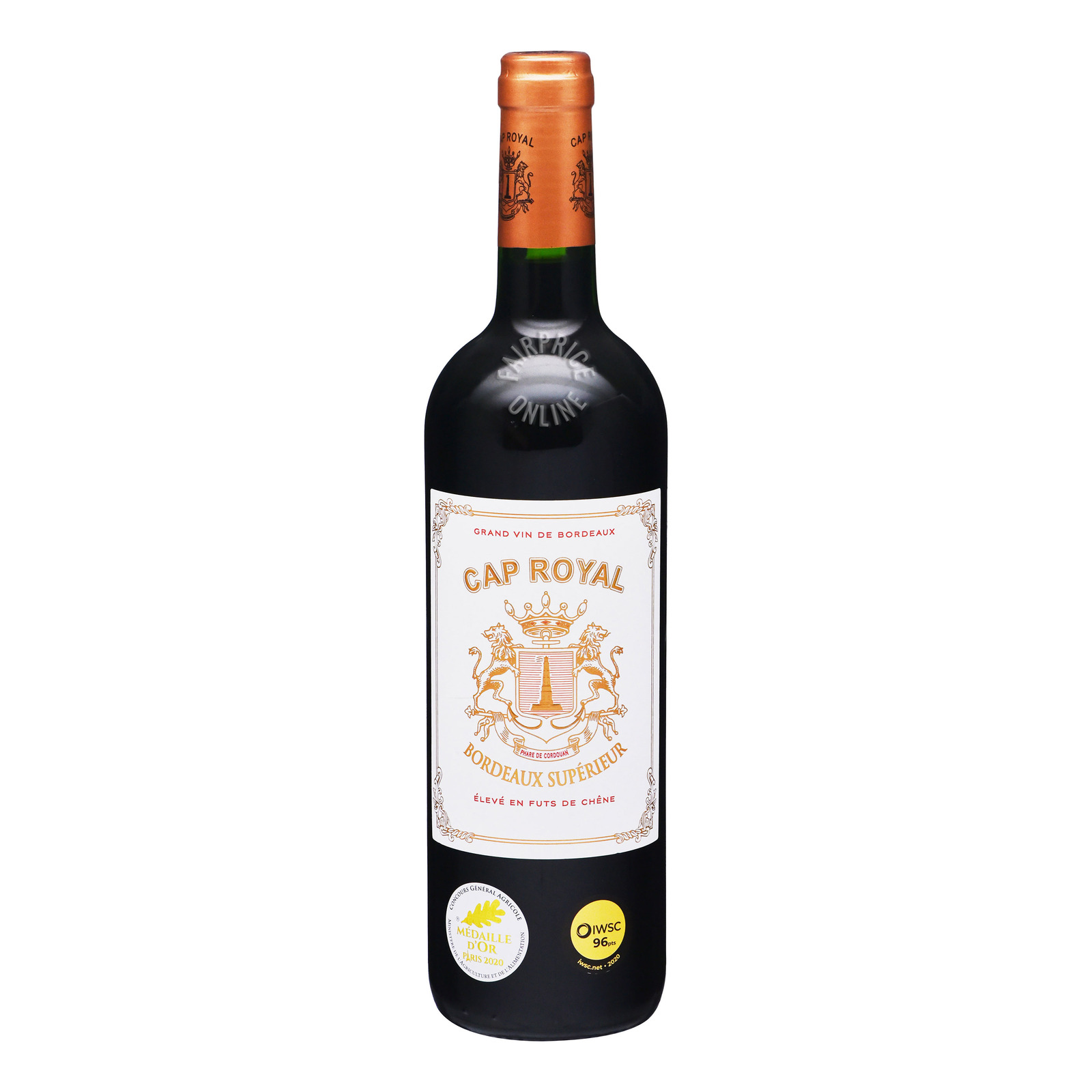 Cap Royal Bordeaux Red Wine - Superieur