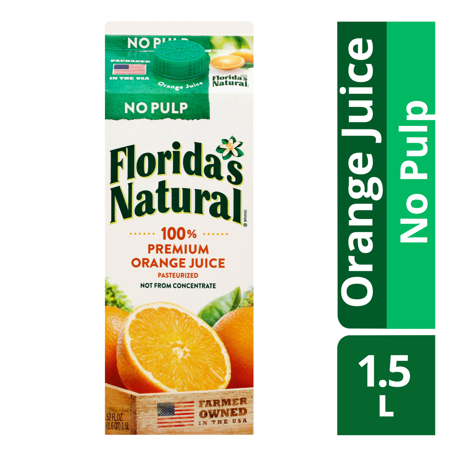 Florida's Natural 100% Orange Juice - No Pulp