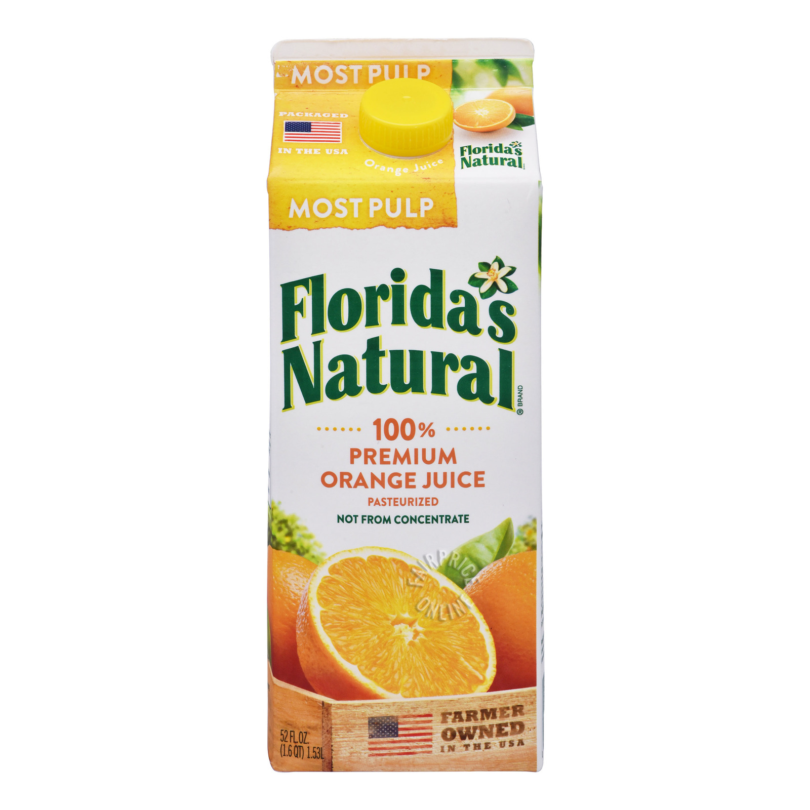 Florida's Natural 100% Orange Juice - Most Pulp