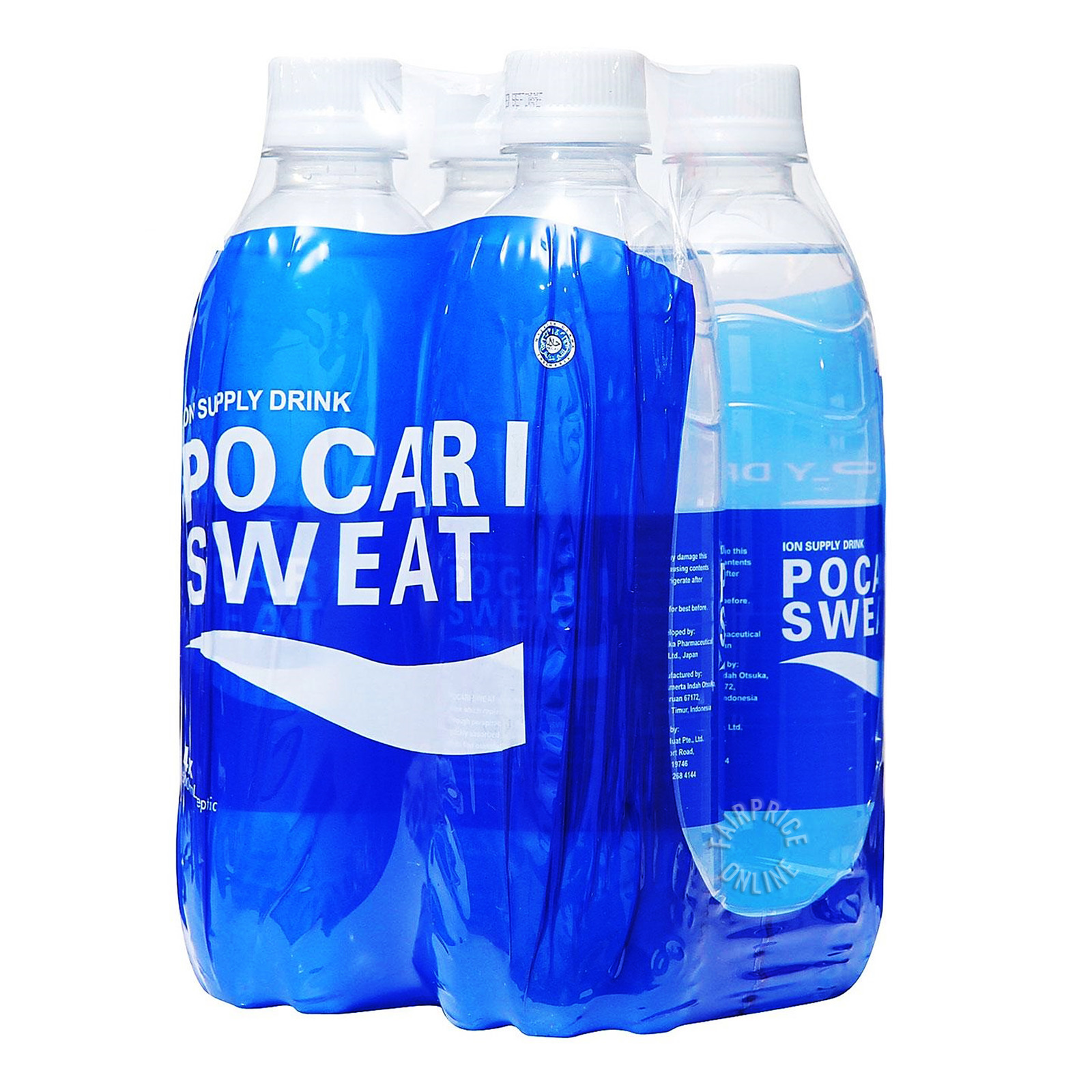 POCARI SWEAT Sweat Isotonic Drink 4sX500ml