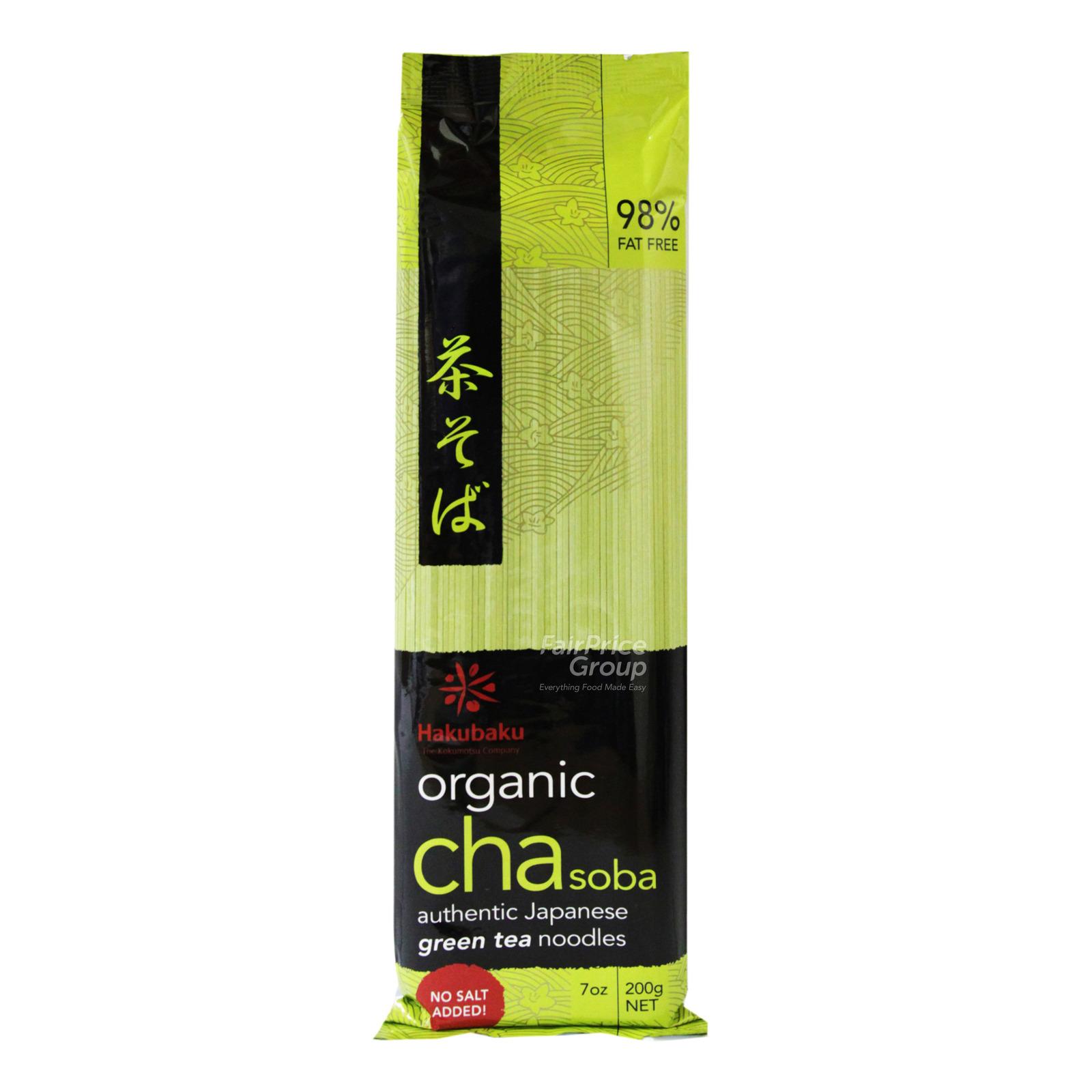 Hakubaku Organic Cha Soba