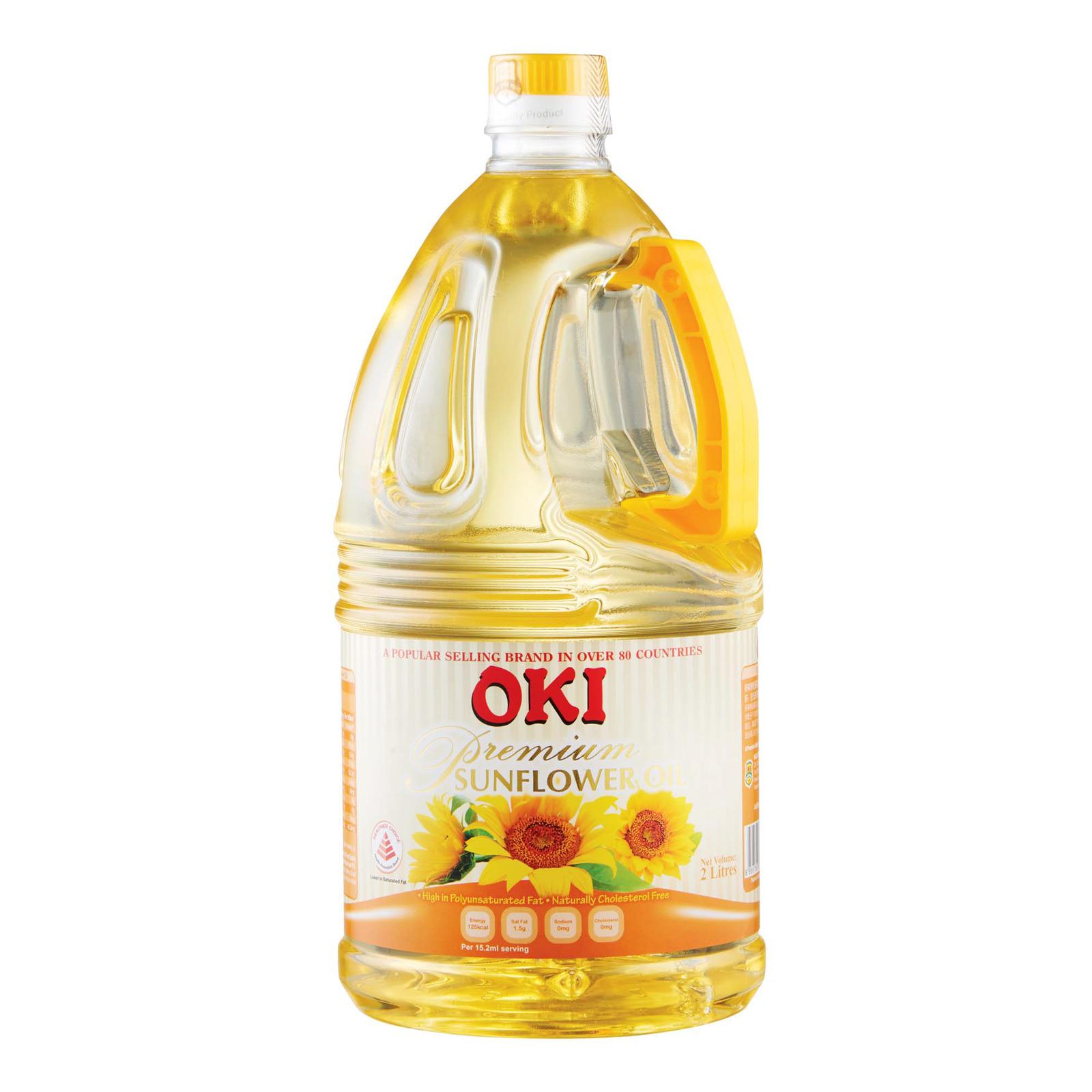 Oki Premium Sunflower Oil