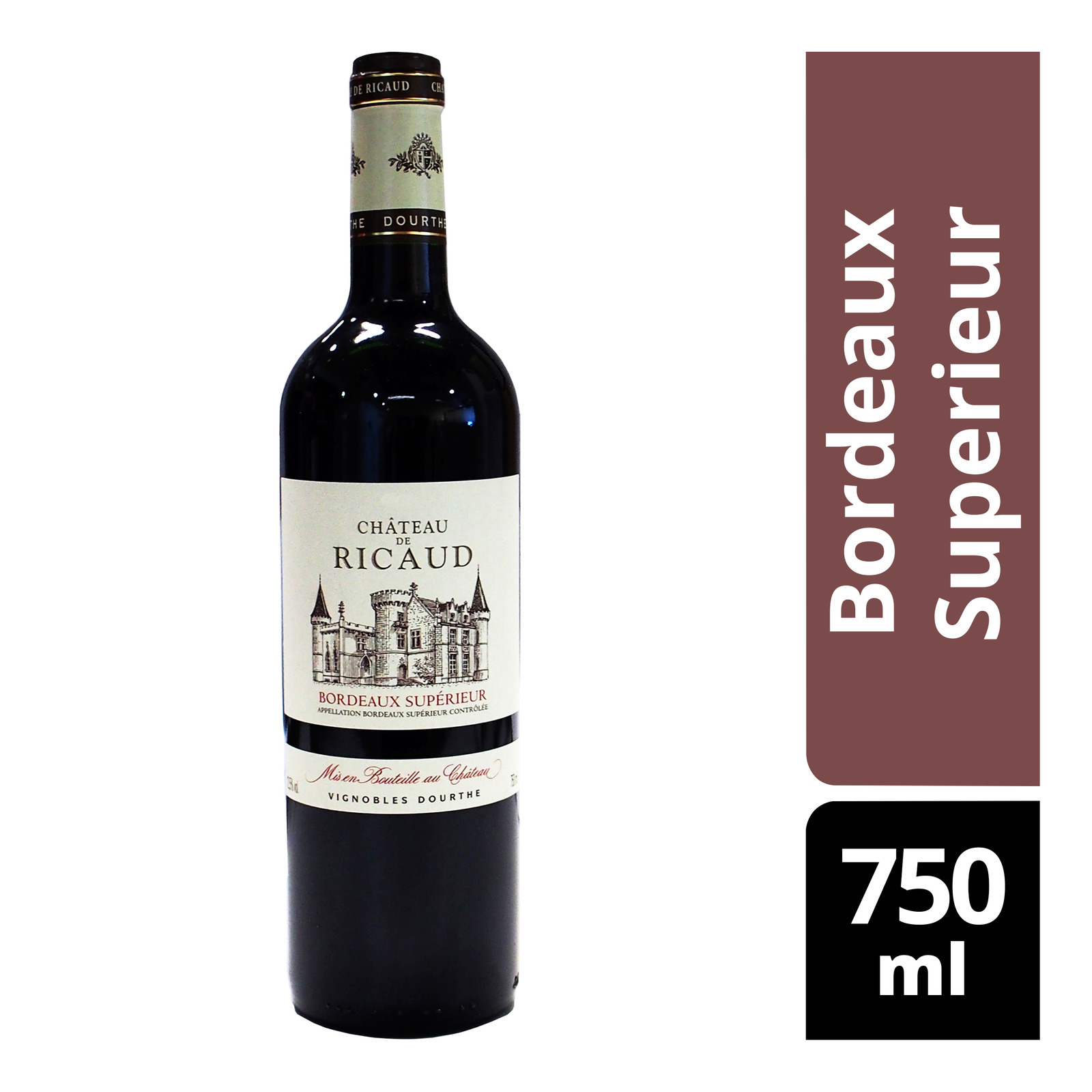 Chateau de Ricaud Red Wine - Bordeaux Superieur