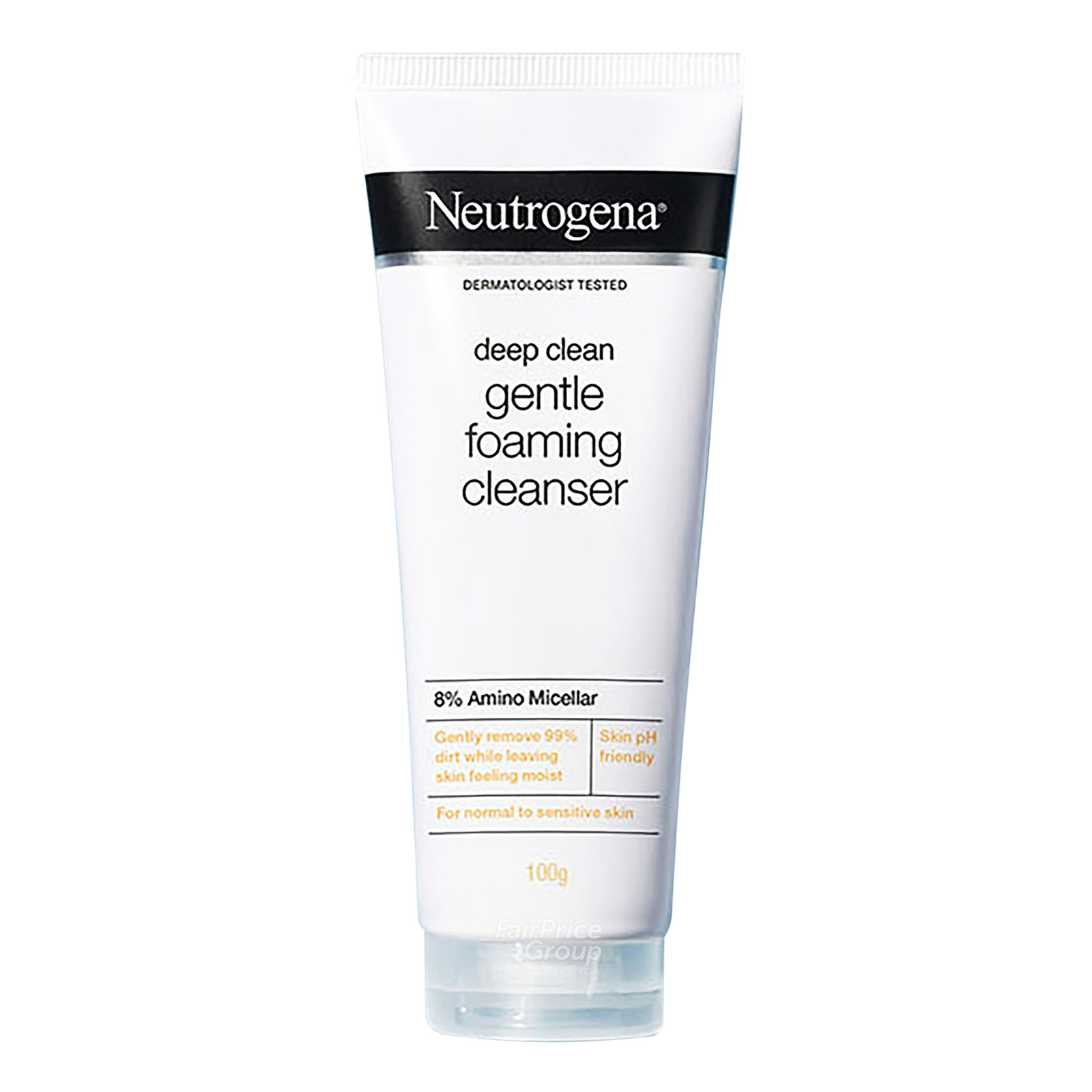 NEUTROGENA  deep clean hydrating foaming cleanser 100g