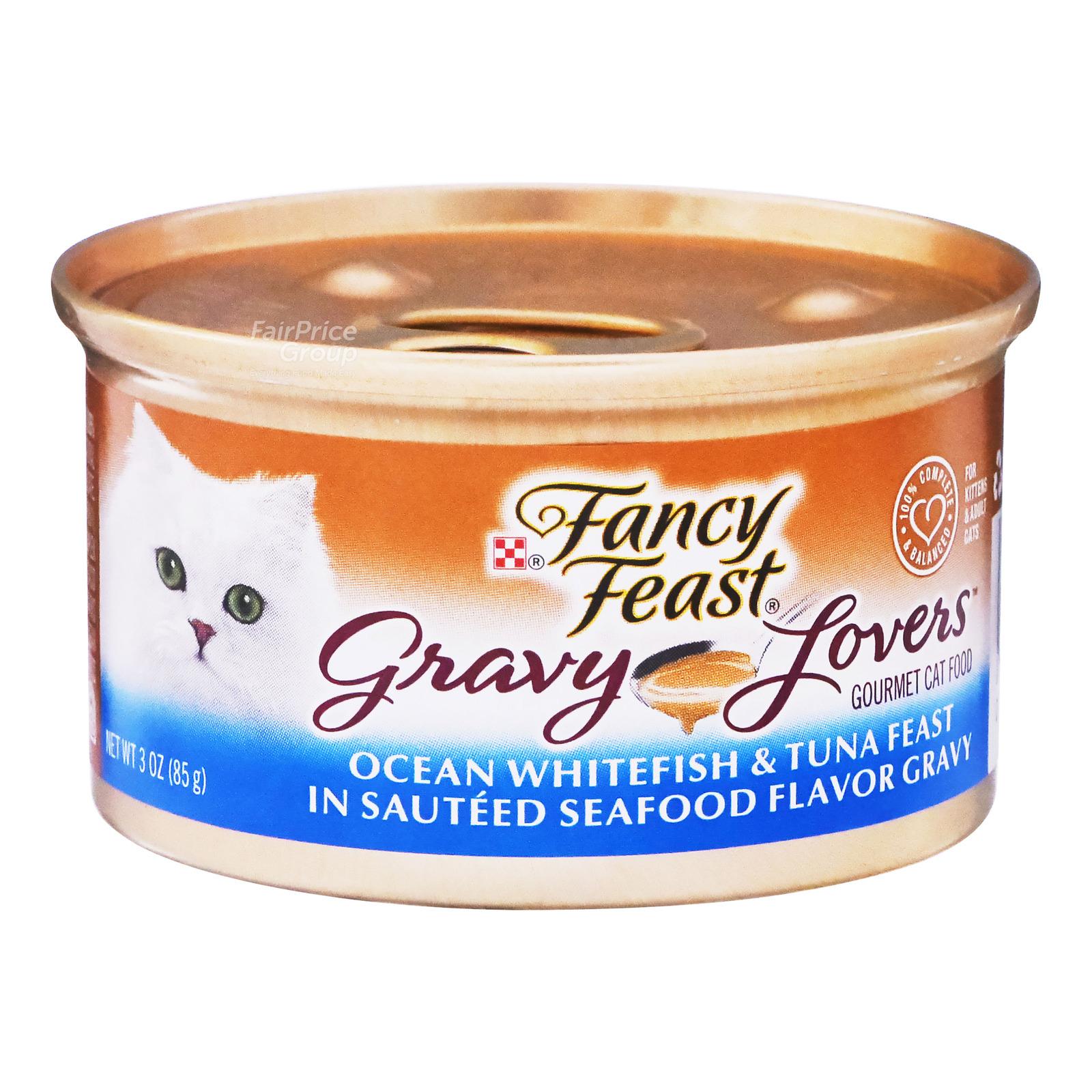 Fancy Feast Gravy Lovers Cat Food - Ocean Whitefish & Tuna