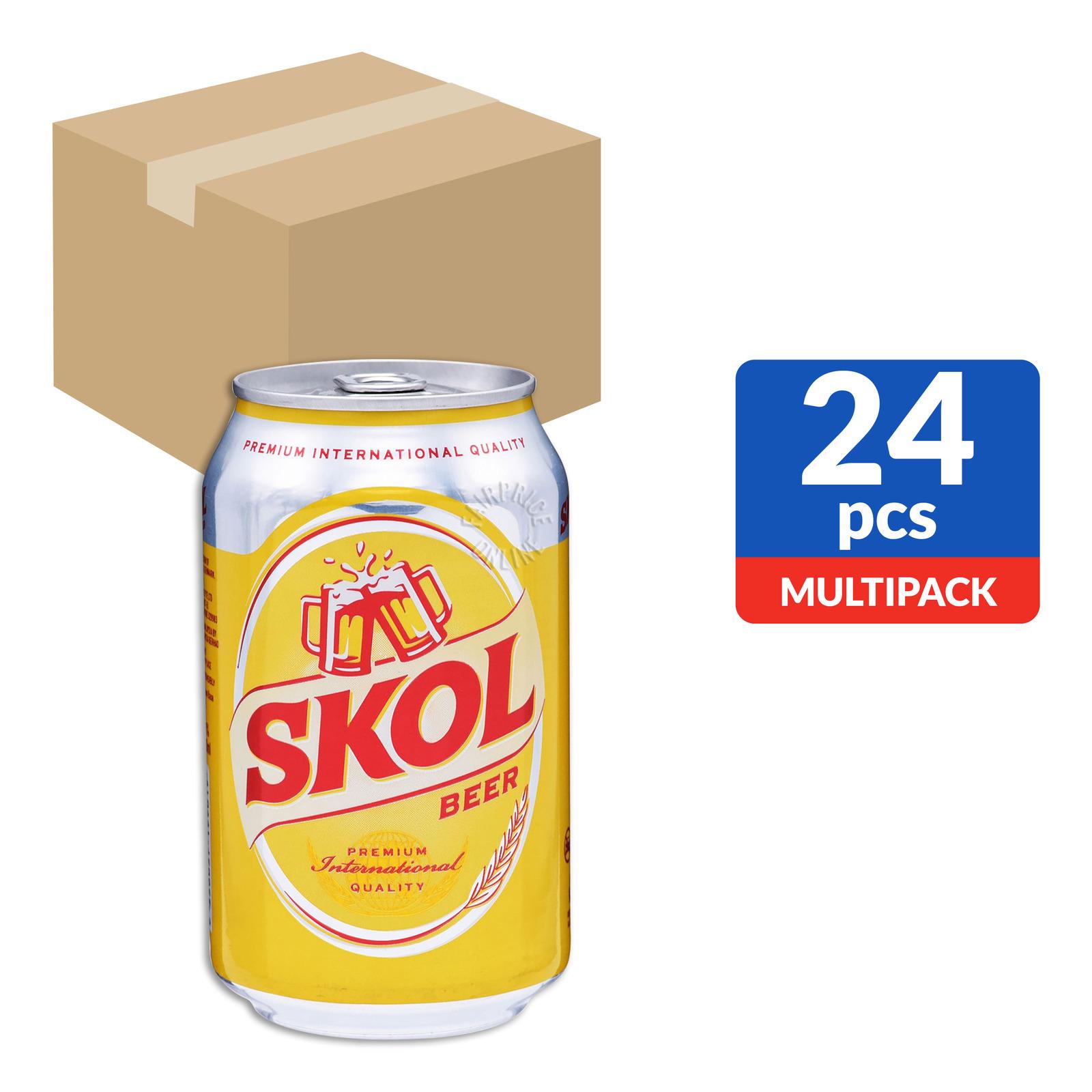 Skol Can Beer