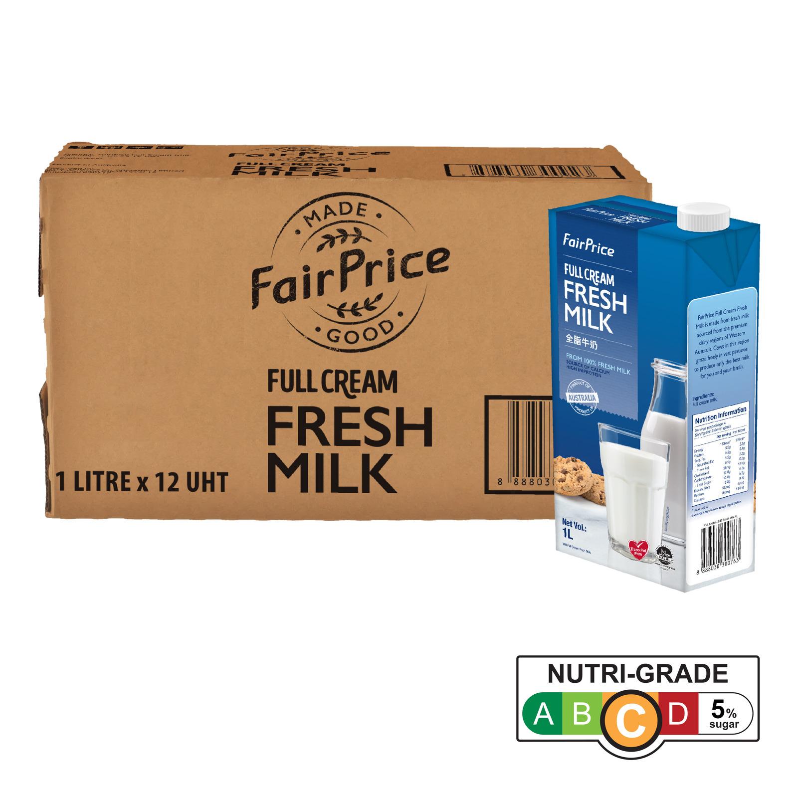 FairPrice UHT Milk - Full Cream