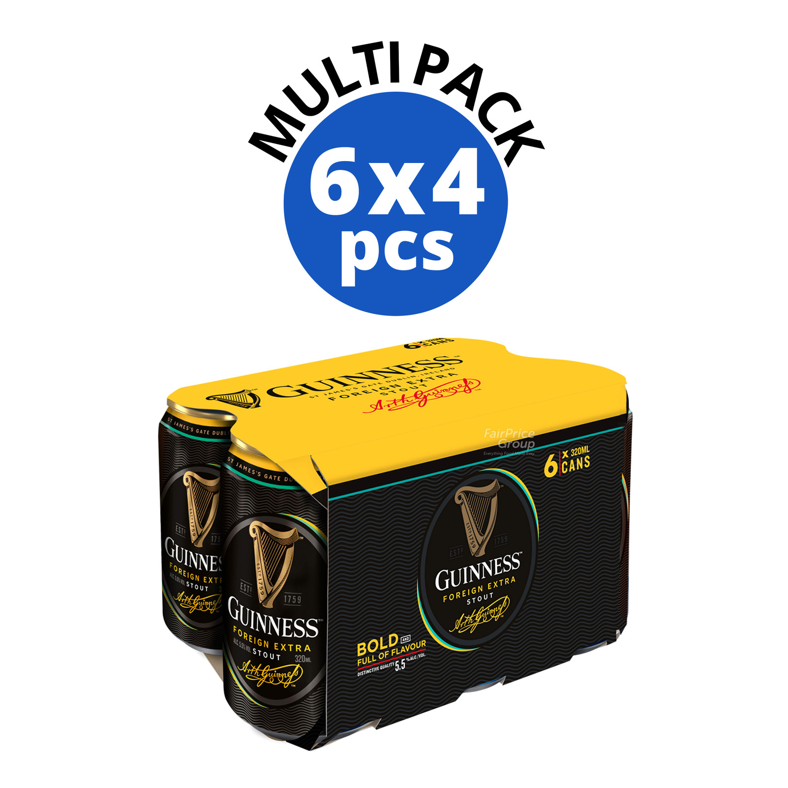 Guinness Can Beer - Foreign Extra Stout