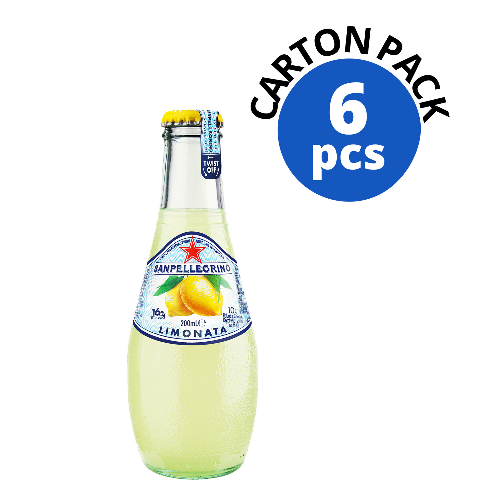 San Pellegrino Sparkling Bottle Drink - Limonata