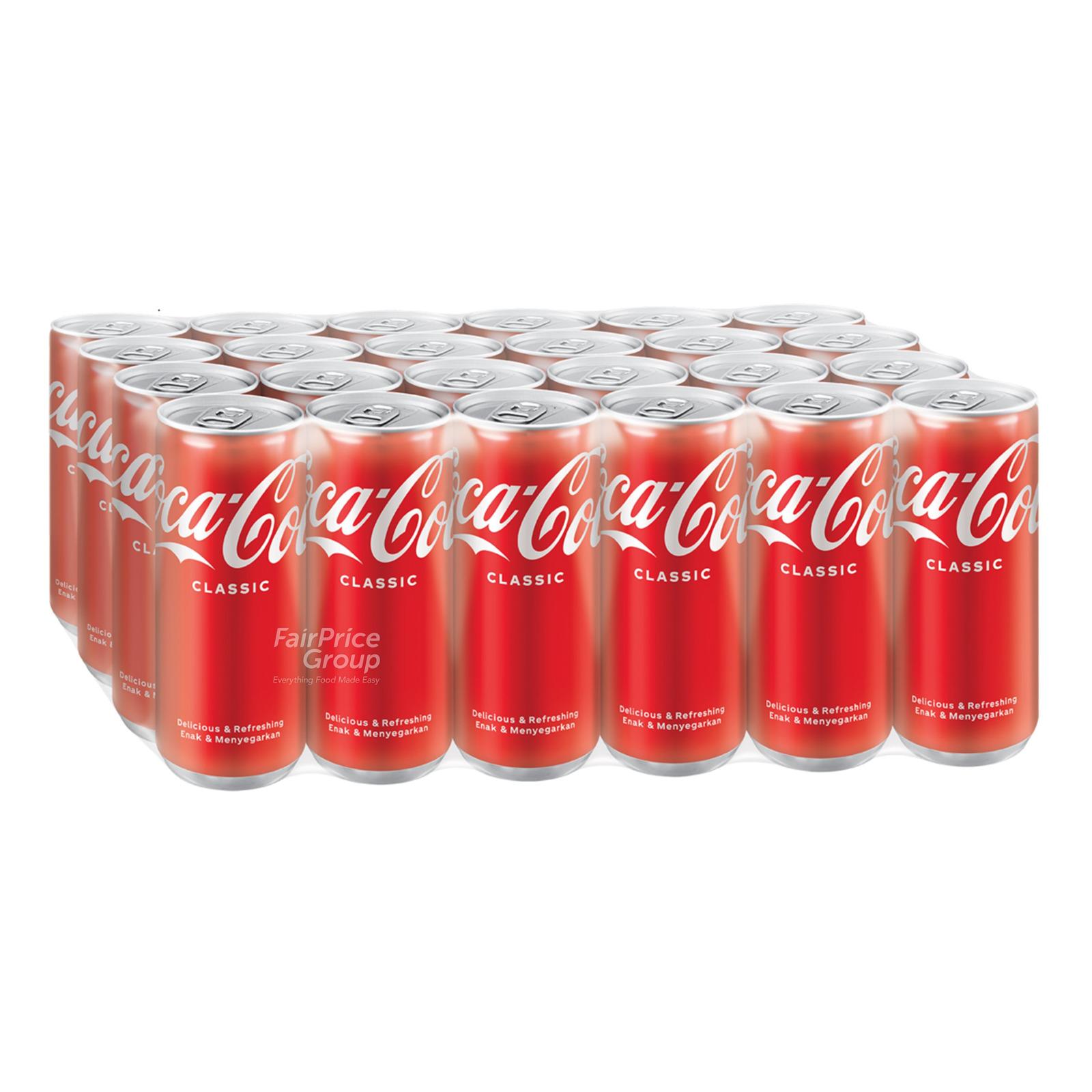 Coca-Cola Can Drink - Classic (Slim)