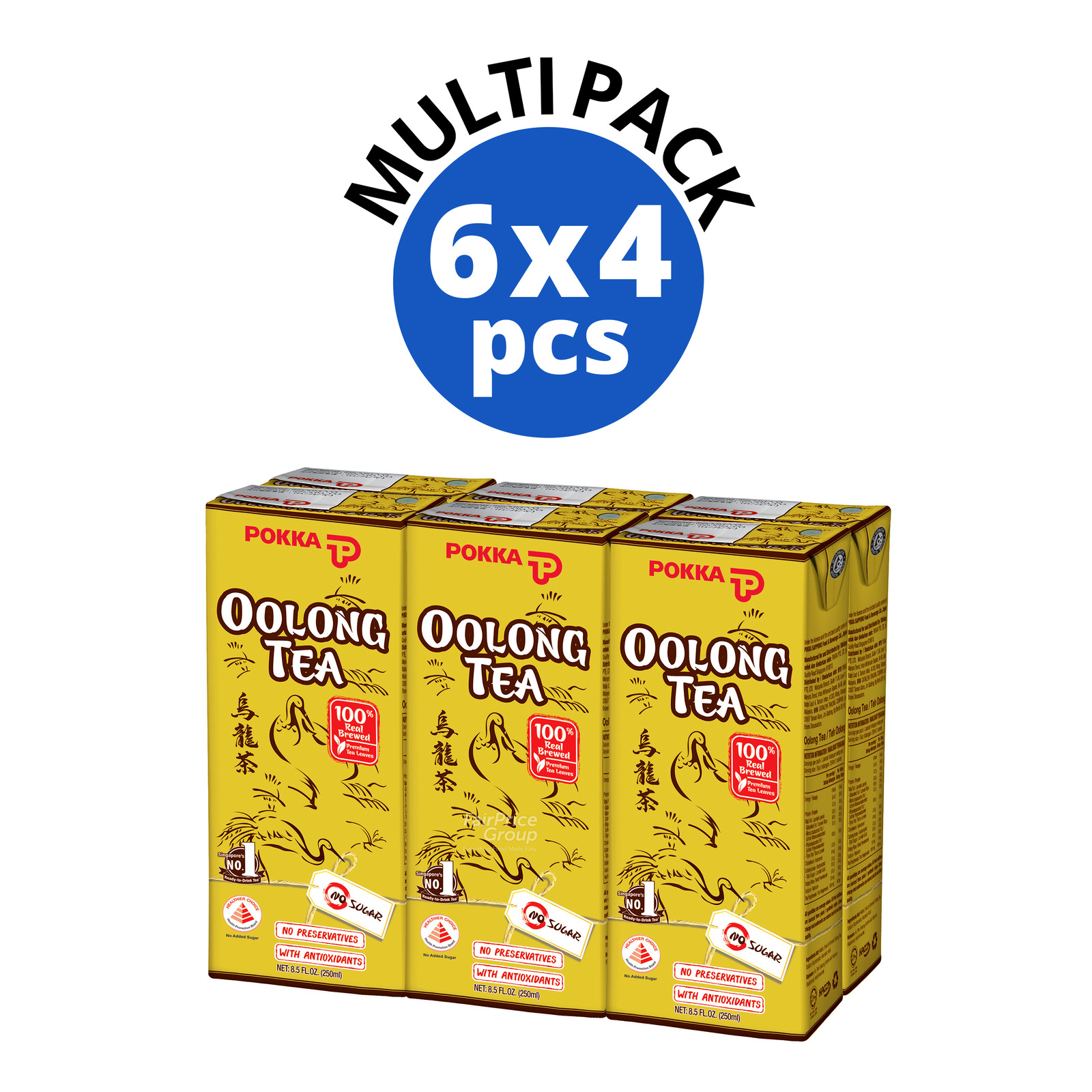 Pokka Packet Drink - Oolong Tea (No Sugar Added)
