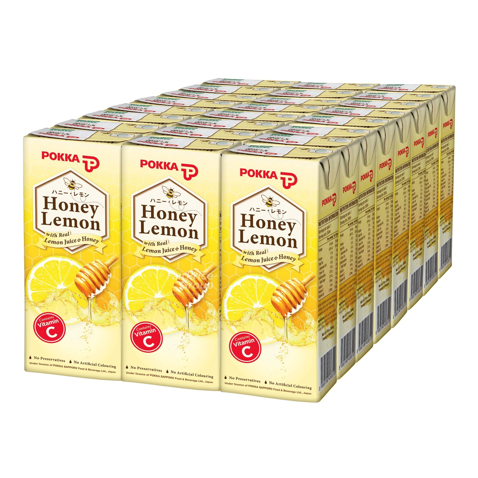 Pokka Packet Drink - Natsubee Honey Lemon