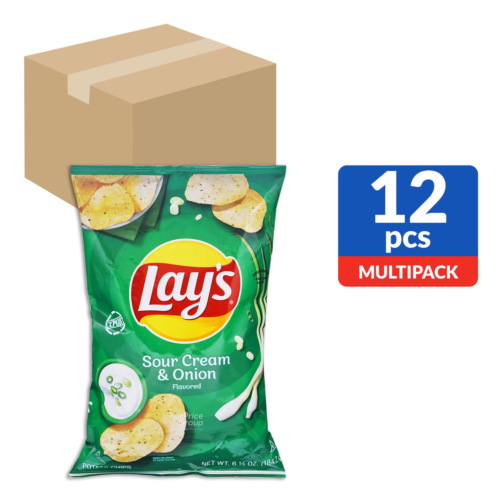 Lay's Potato Chips - Sour Cream & Onion
