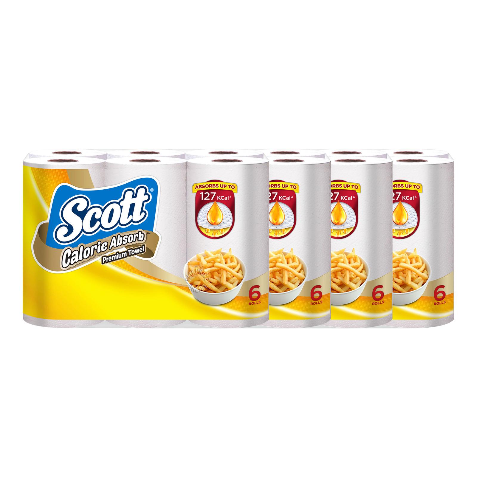 Scott Kitchen Premium Towel Rolls - Calorie Light