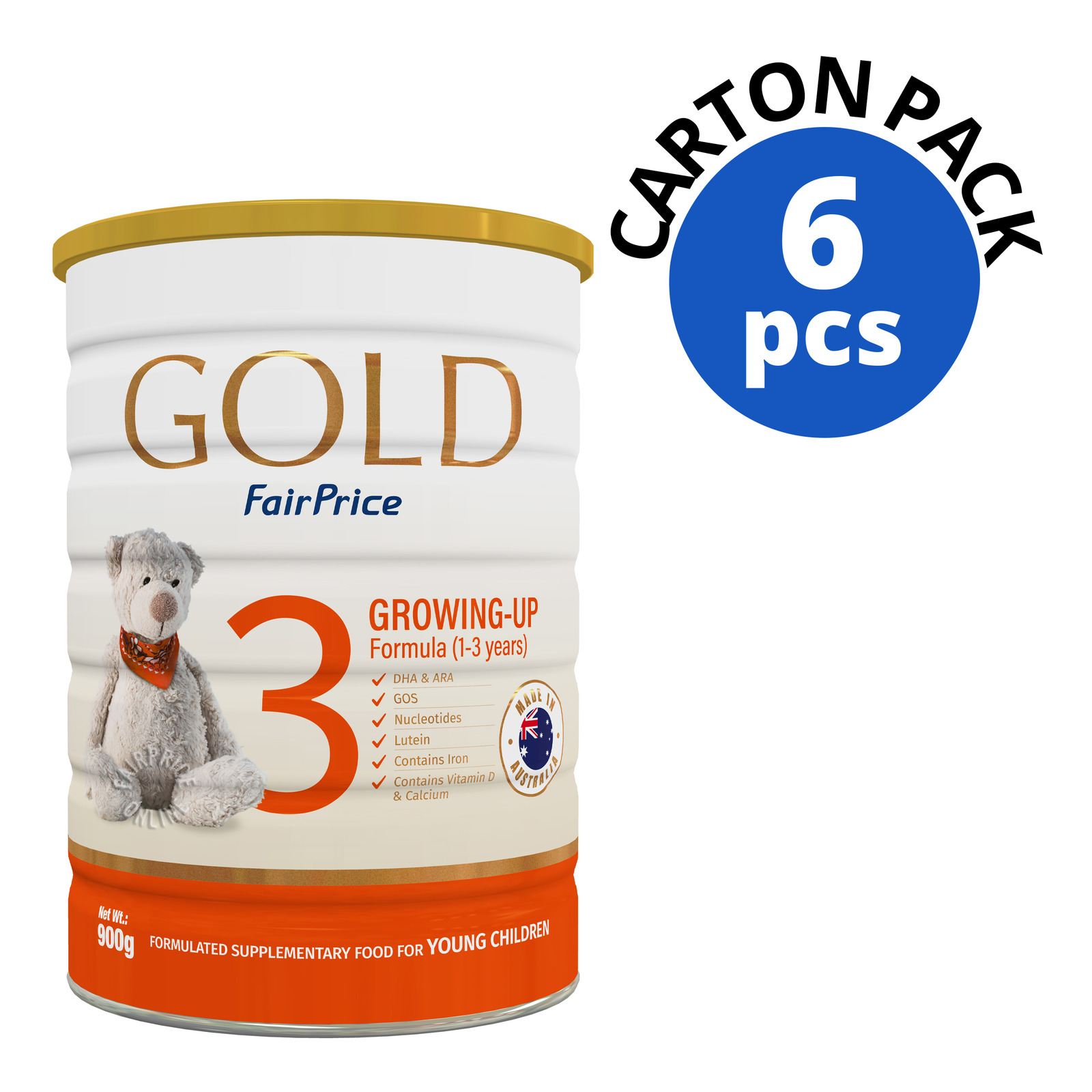 FairPrice Gold Growing Up Milk Formula - Stage 3