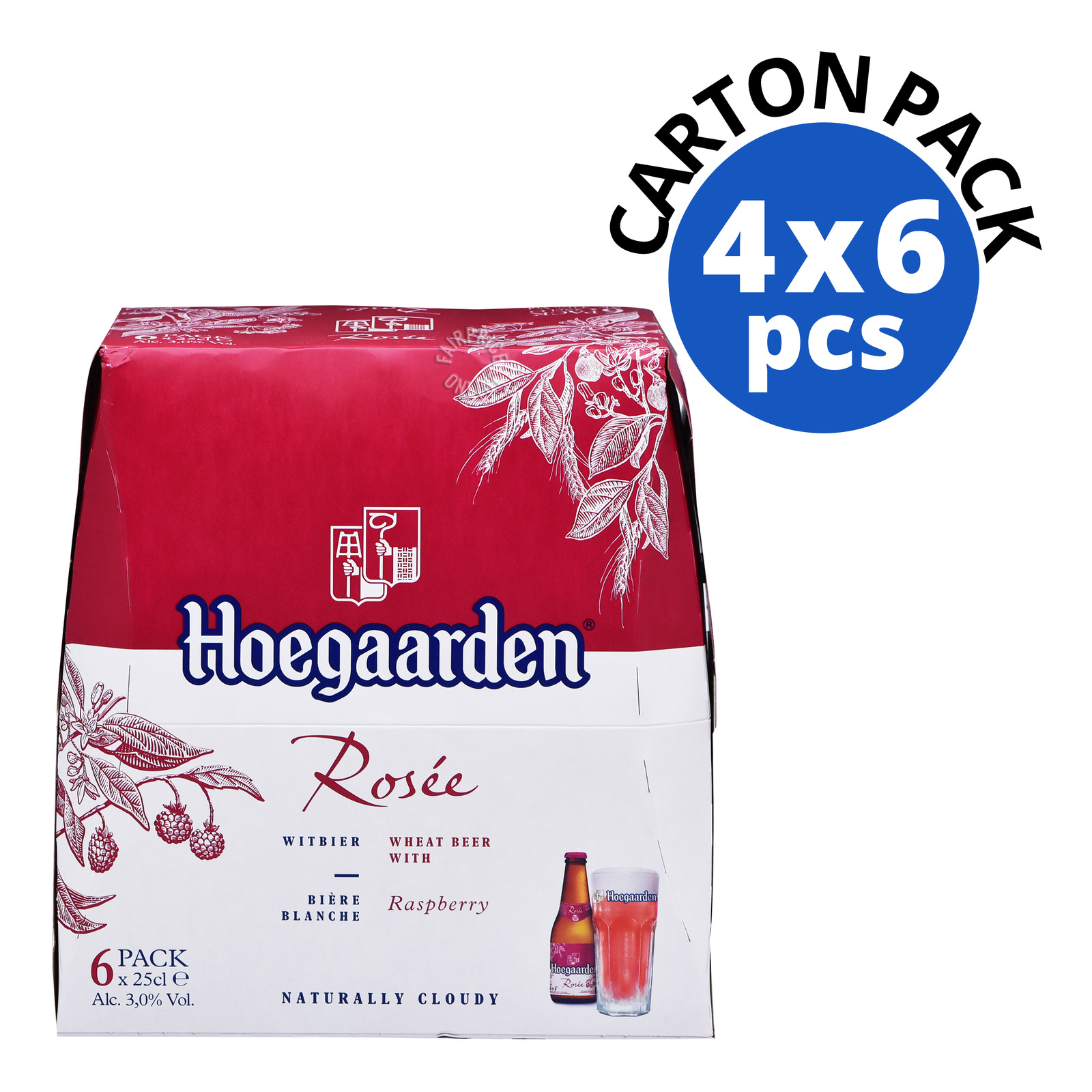 Hoegaarden Bottle Beer - Rosee