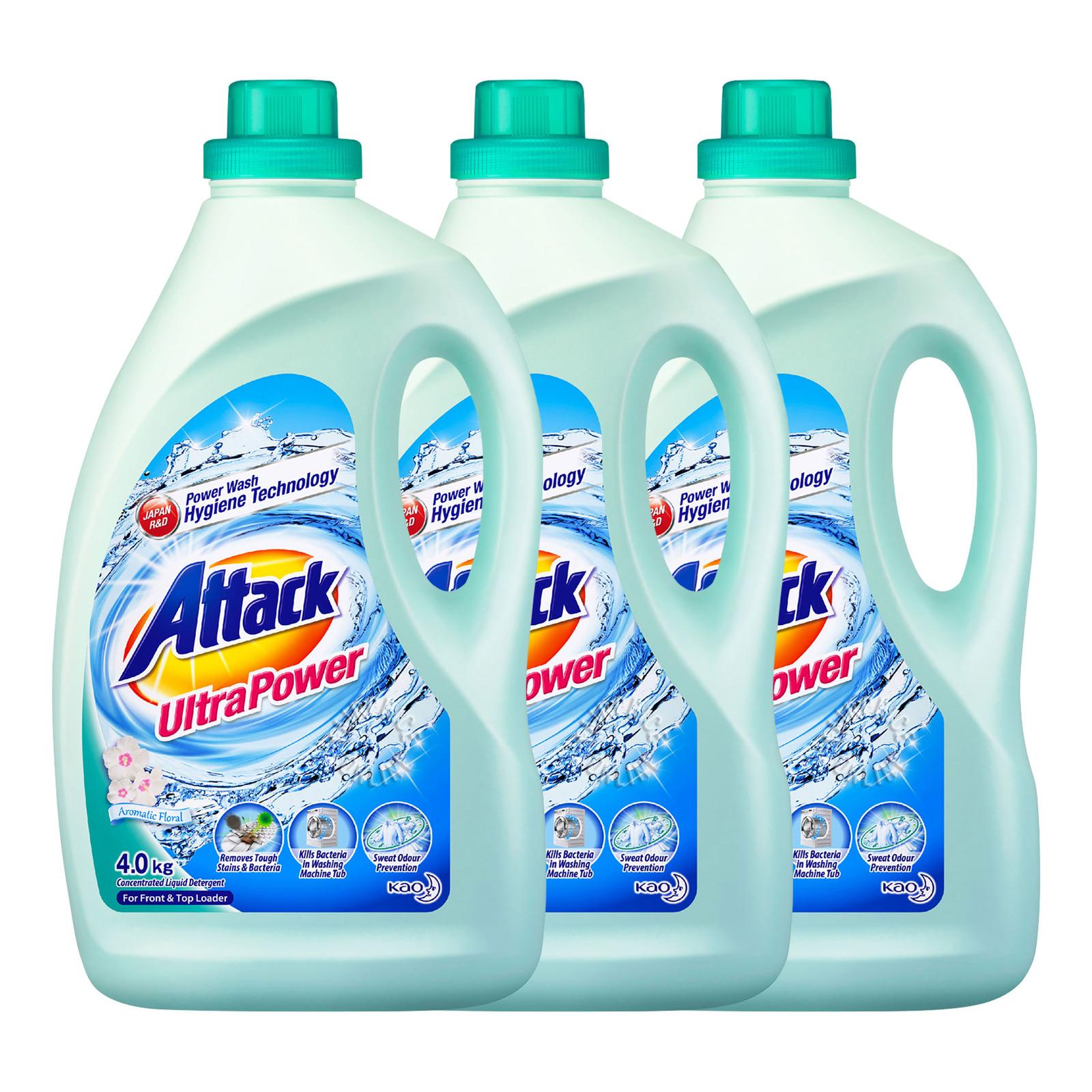 Attack Liquid Detergent - Ultra Power (Aromatic Floral)