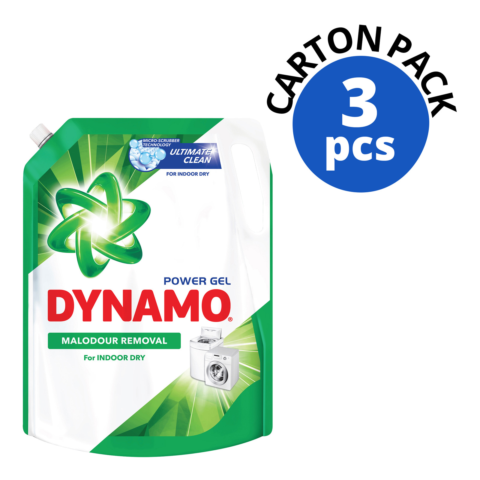 Dynamo Power Gel Laundry Detergent Refill - IndoorDry