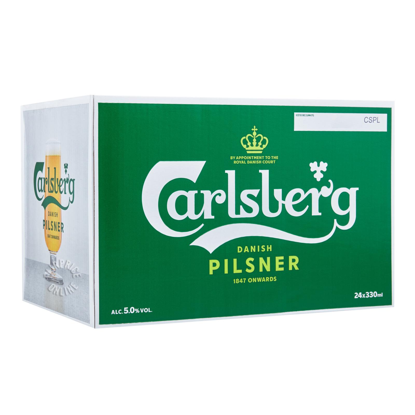 Carlsberg Bottle Beer - Green Label