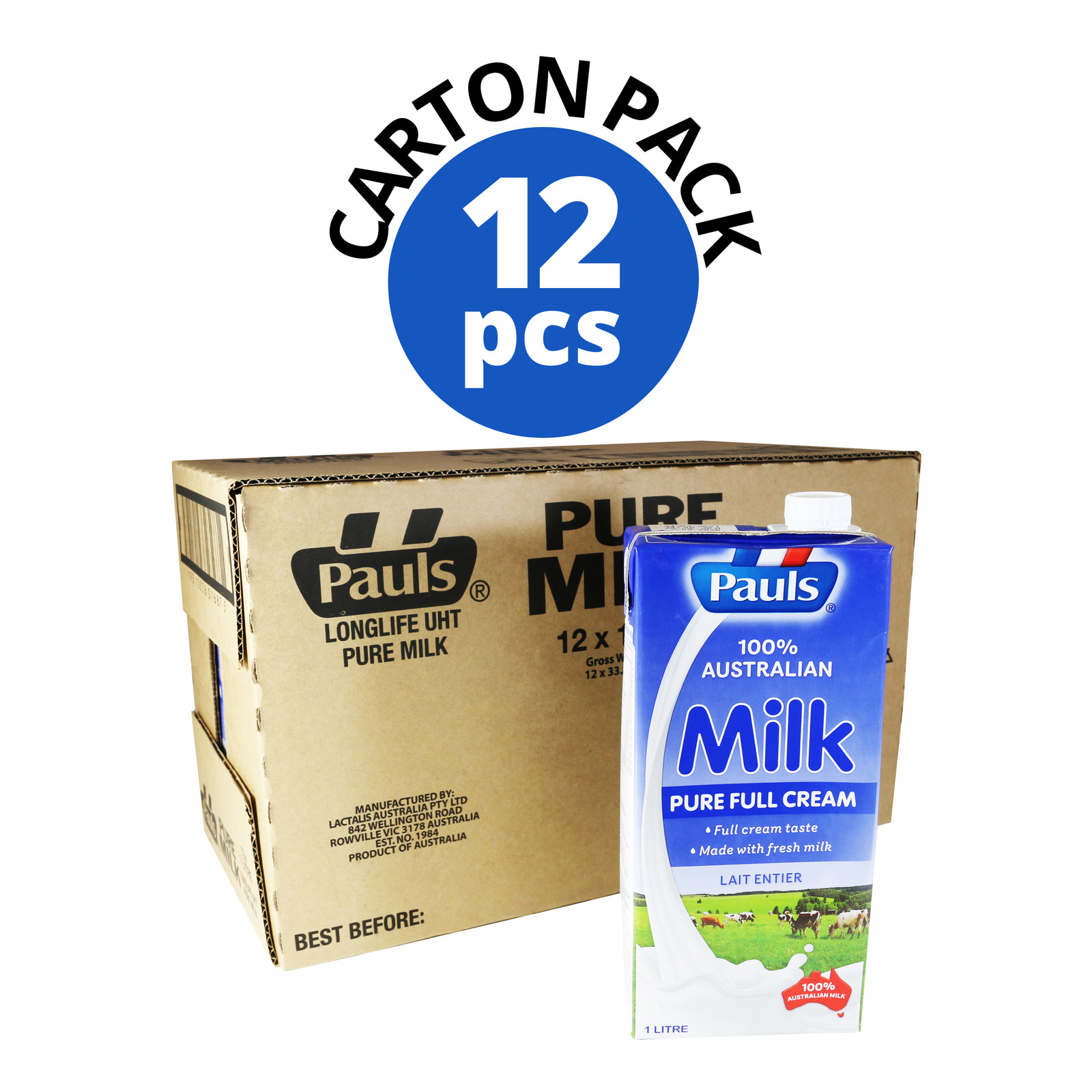 Paul's UHT Milk - Full Cream