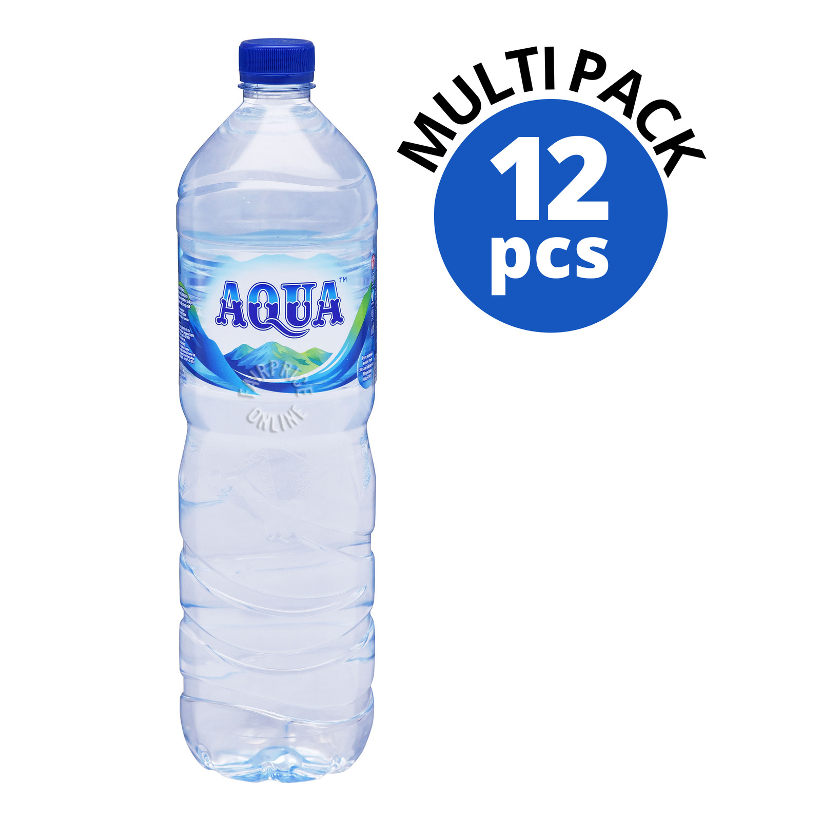 AQUA Mountain Spring Water 12sX1.5L