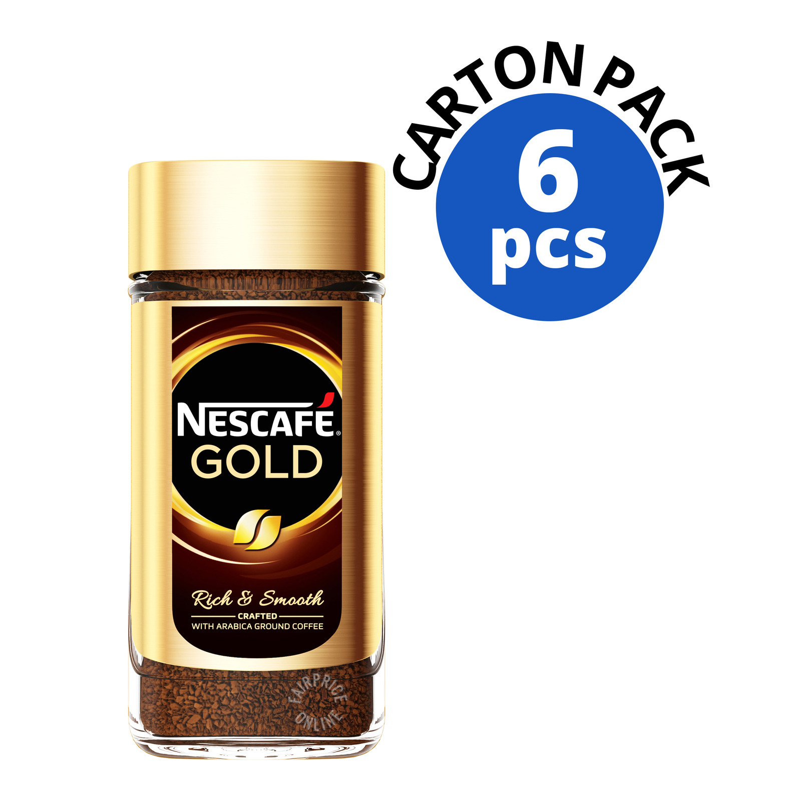 Nescafe Gold Instant Arabica Ground Coffee-Rich&Smooth