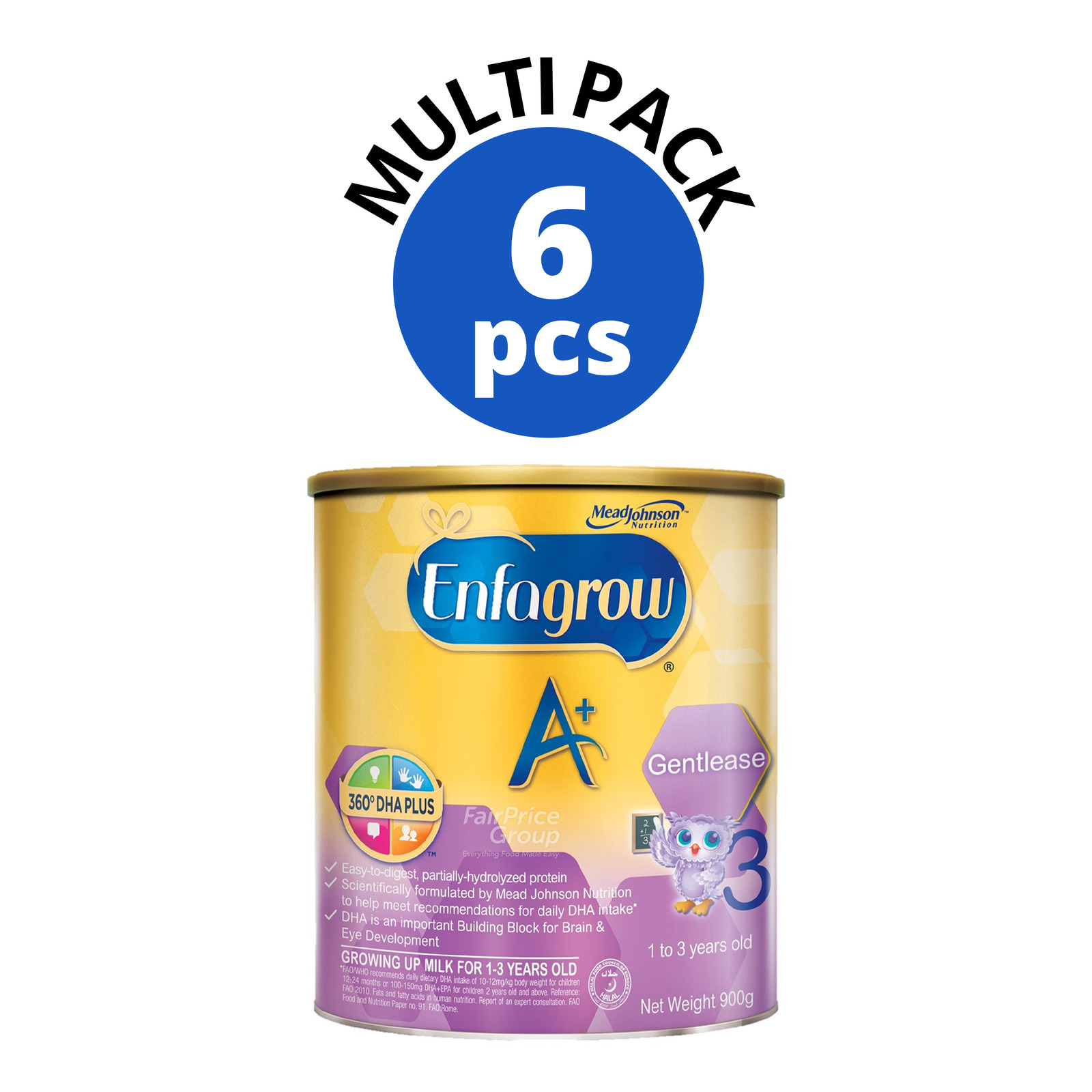 Enfagrow A+ Gentlease Milk Powder Formula - Stage 3