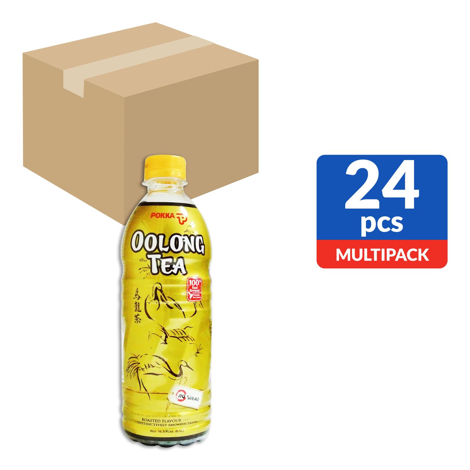 Pokka Bottle Drink - Oolong Tea (No Sugar Added)