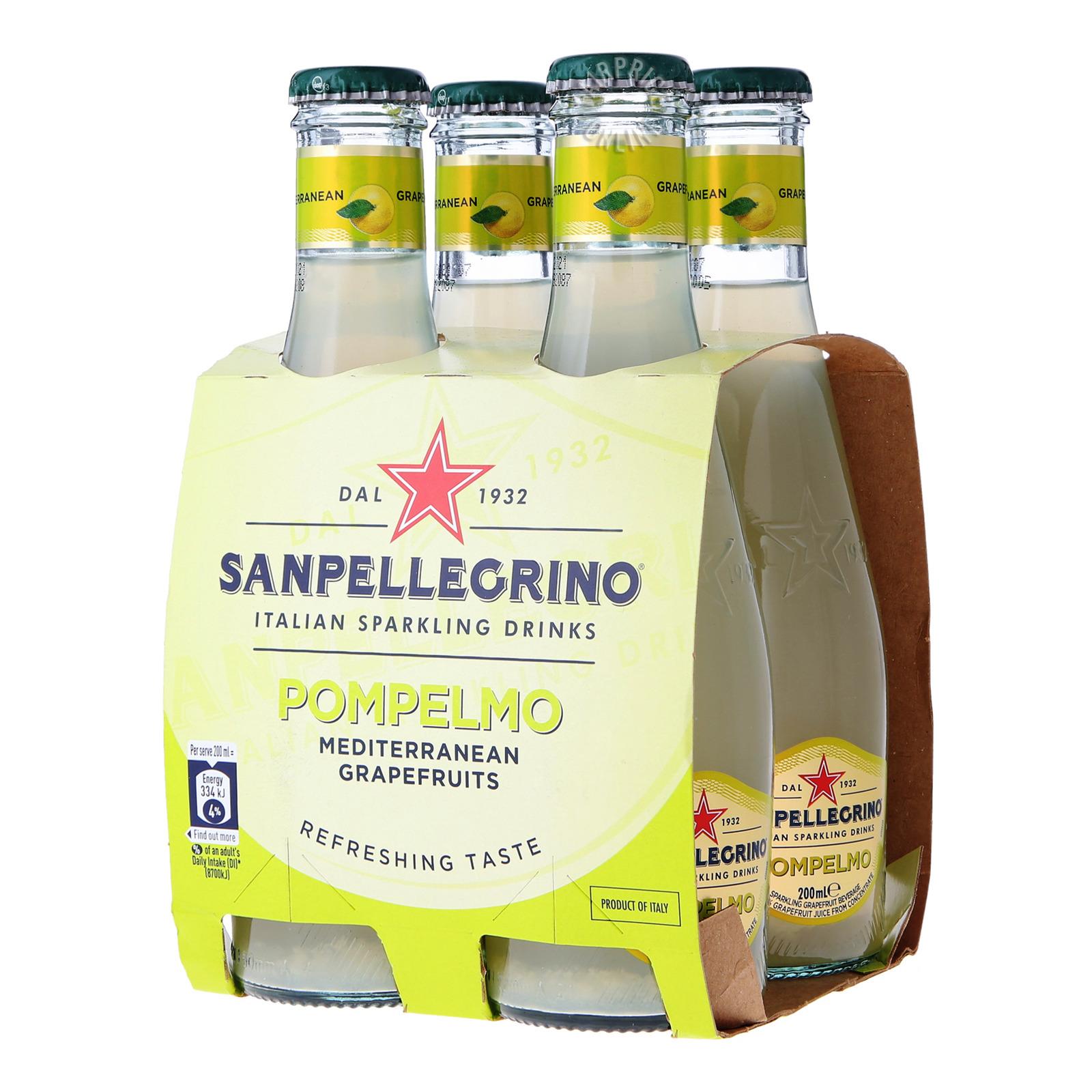 San Pellegrino Italian Sparkling Bottle Drinks - Pompelmo