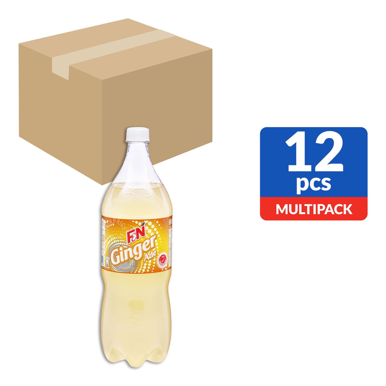 F&N Flavoured Bottle Drink - Ginger Ade