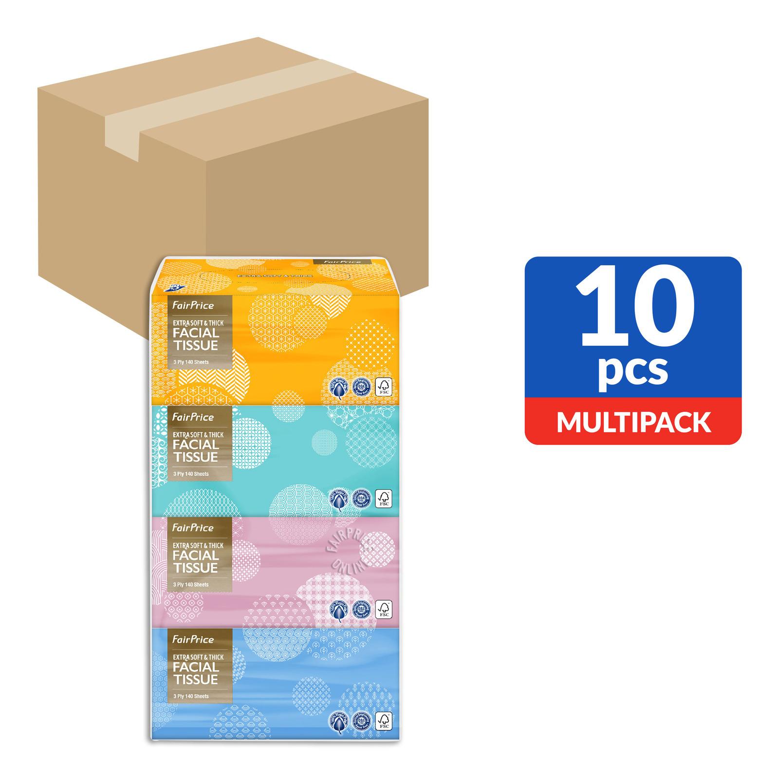 FairPrice Gold Facial Tissue Box (3ply)