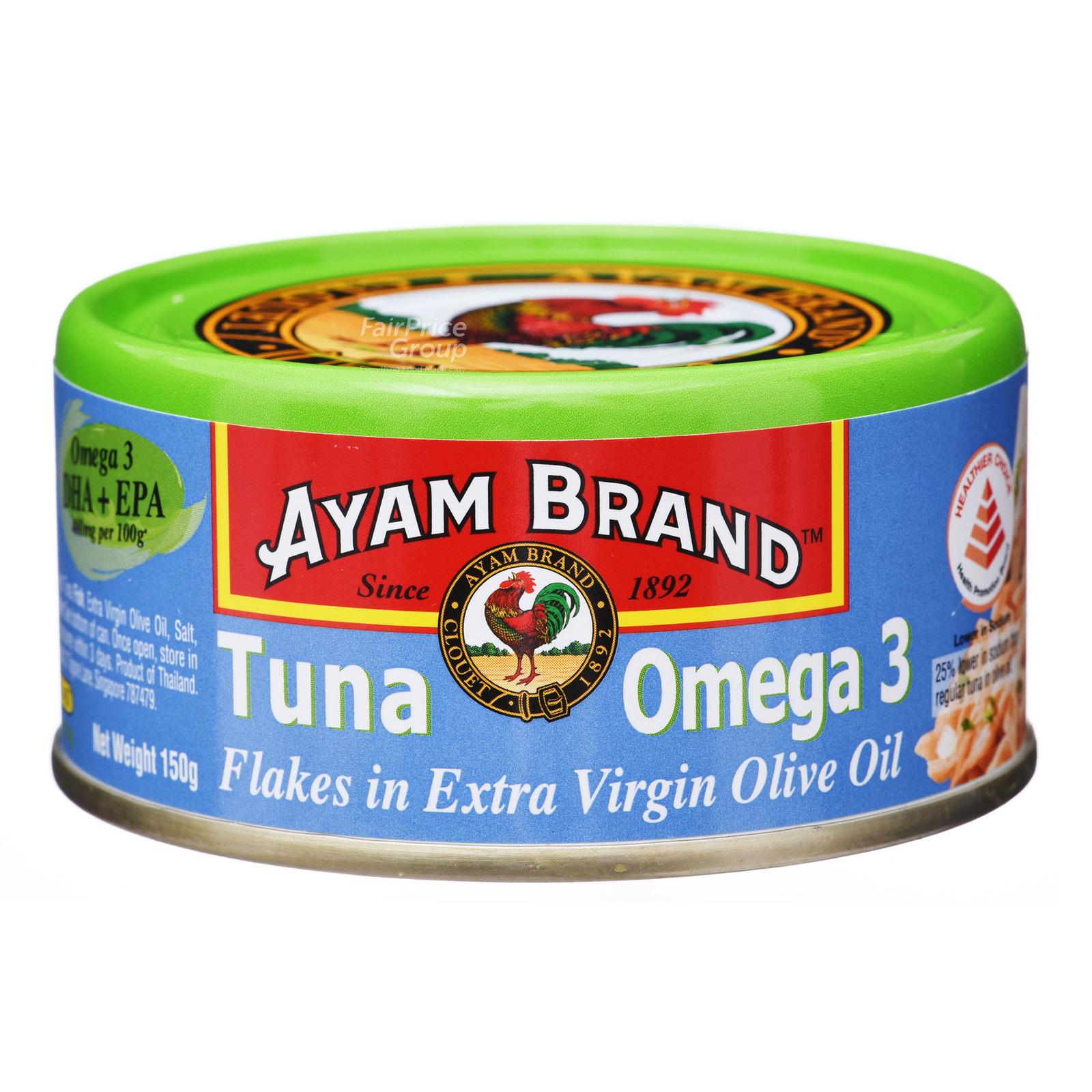 Ayam Brand Tuna Flakes - Extra Virgin Olive Oil (Omega 3)