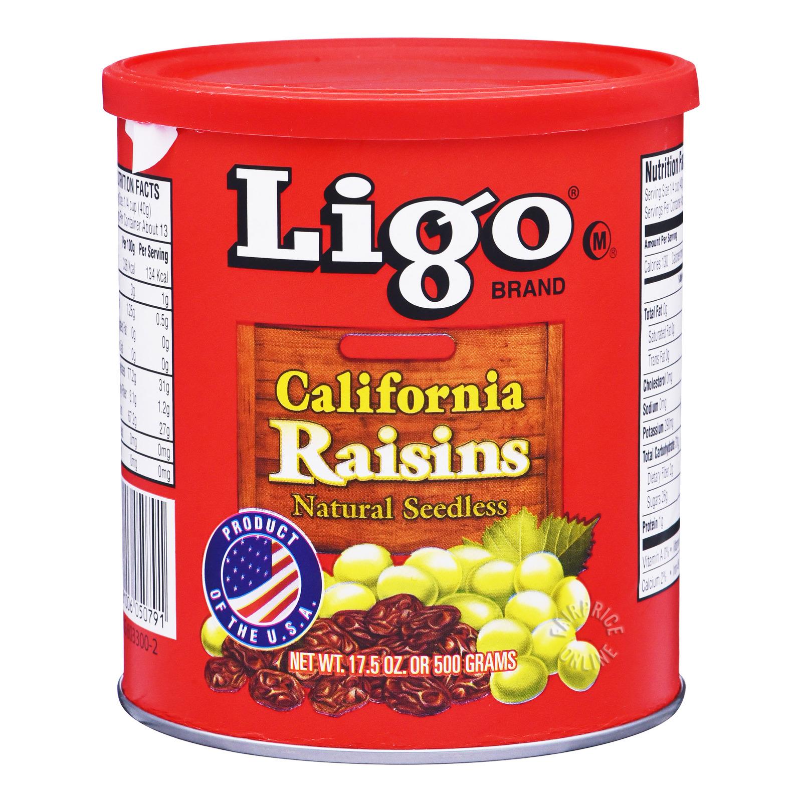 Ligo Brand California Seedless Raisins