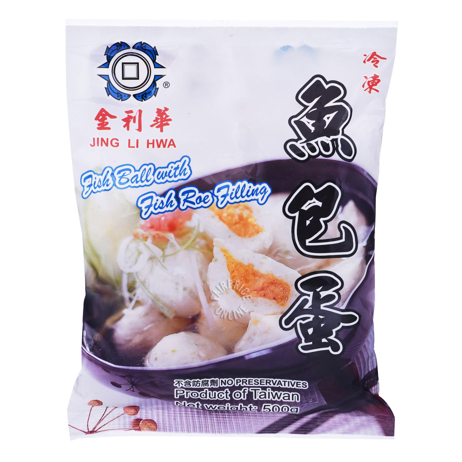 Jing Li Hwa Frozen Fish Ball - Roe