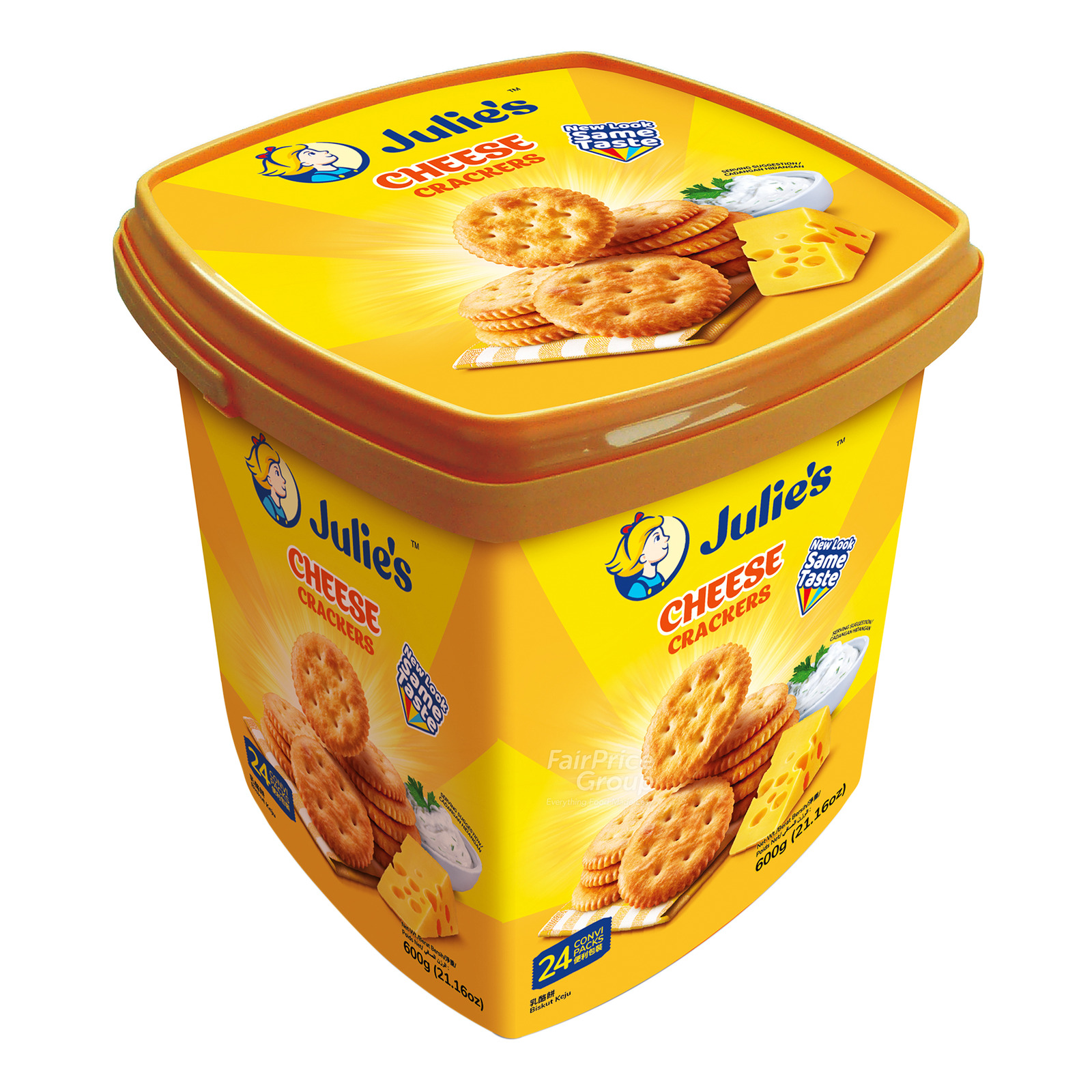 Julie's Crackers - Cheese