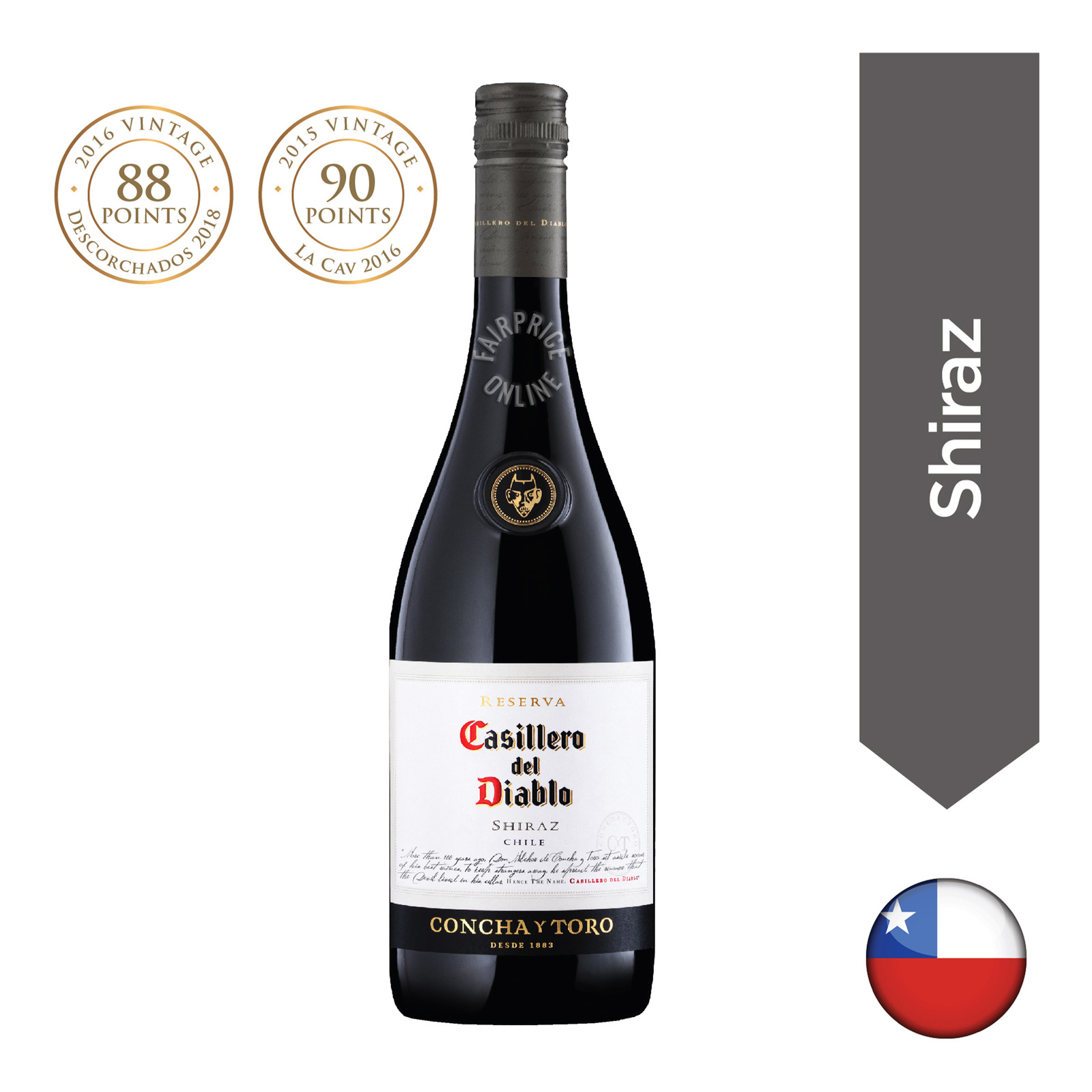 Casillero Del Diablo Reserva Red Wine - Shiraz