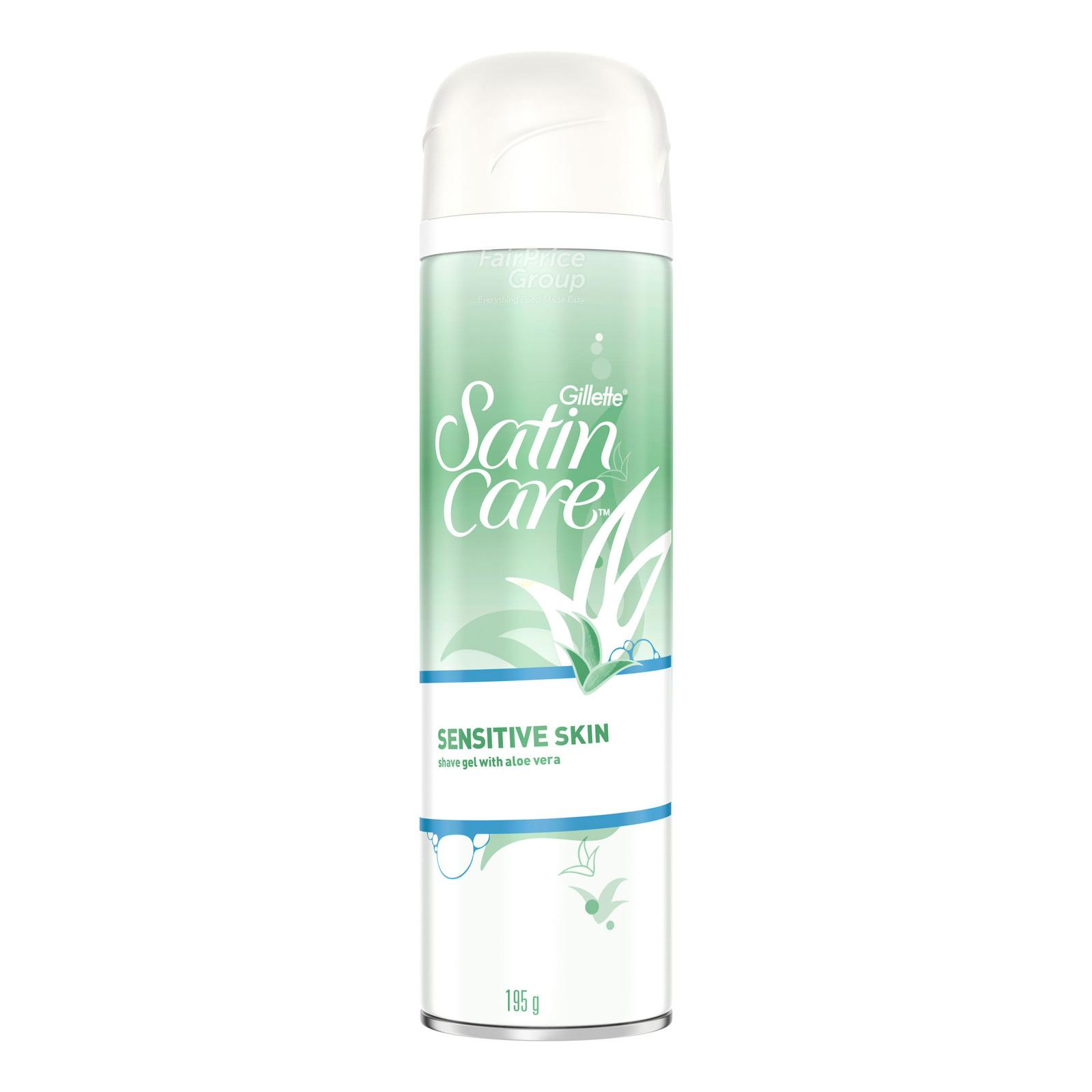 Gillette Satin Care Shave Gel - Sensitive Skin