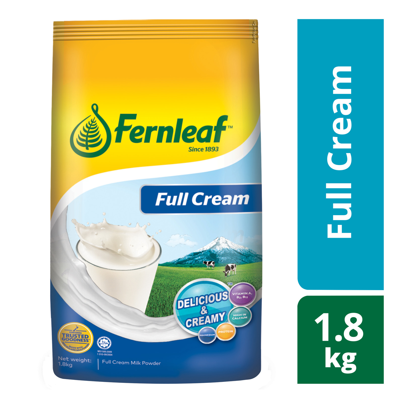 Fernleaf Full Cream Milk Powder 1.8KG