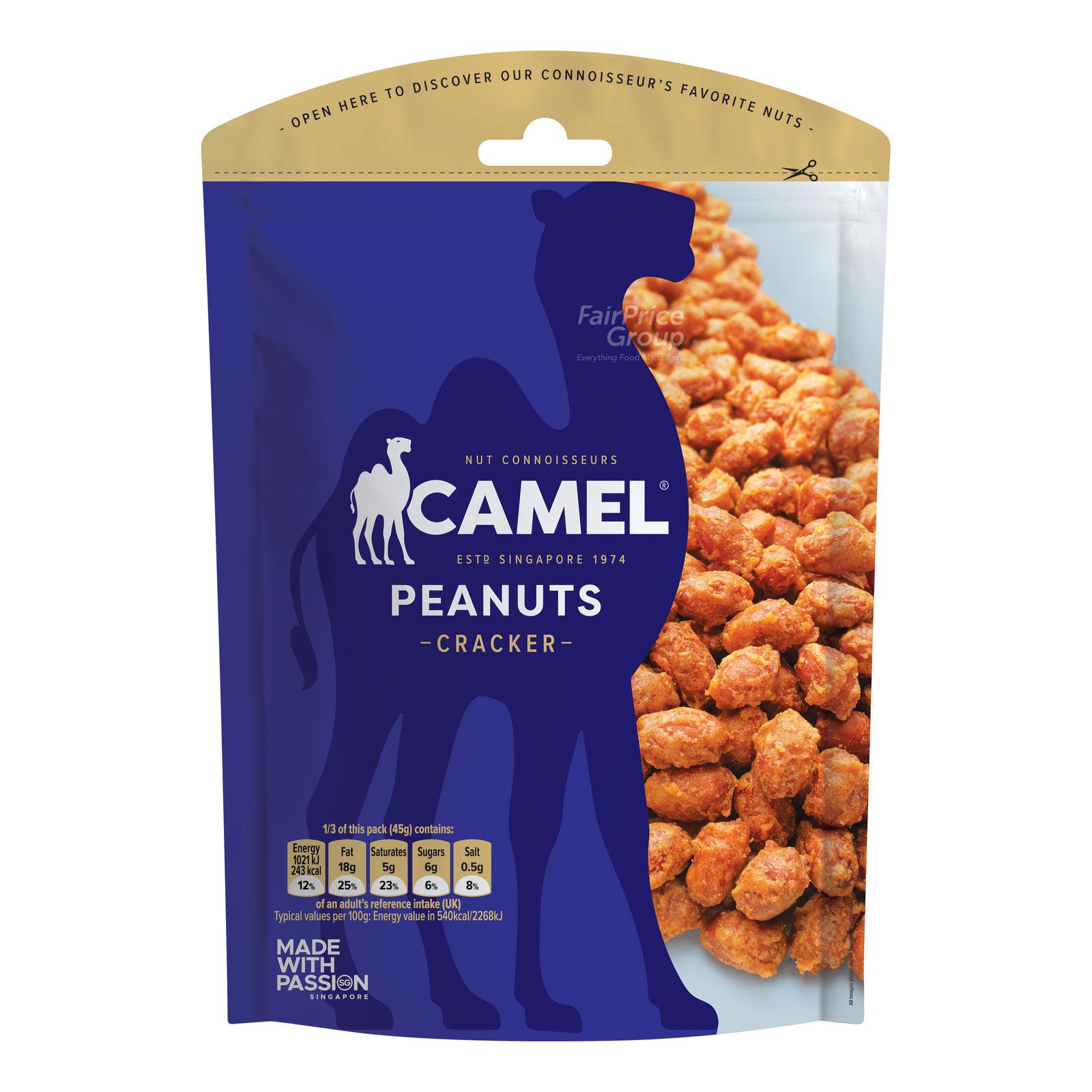Camel Coated Peanuts - Cracker