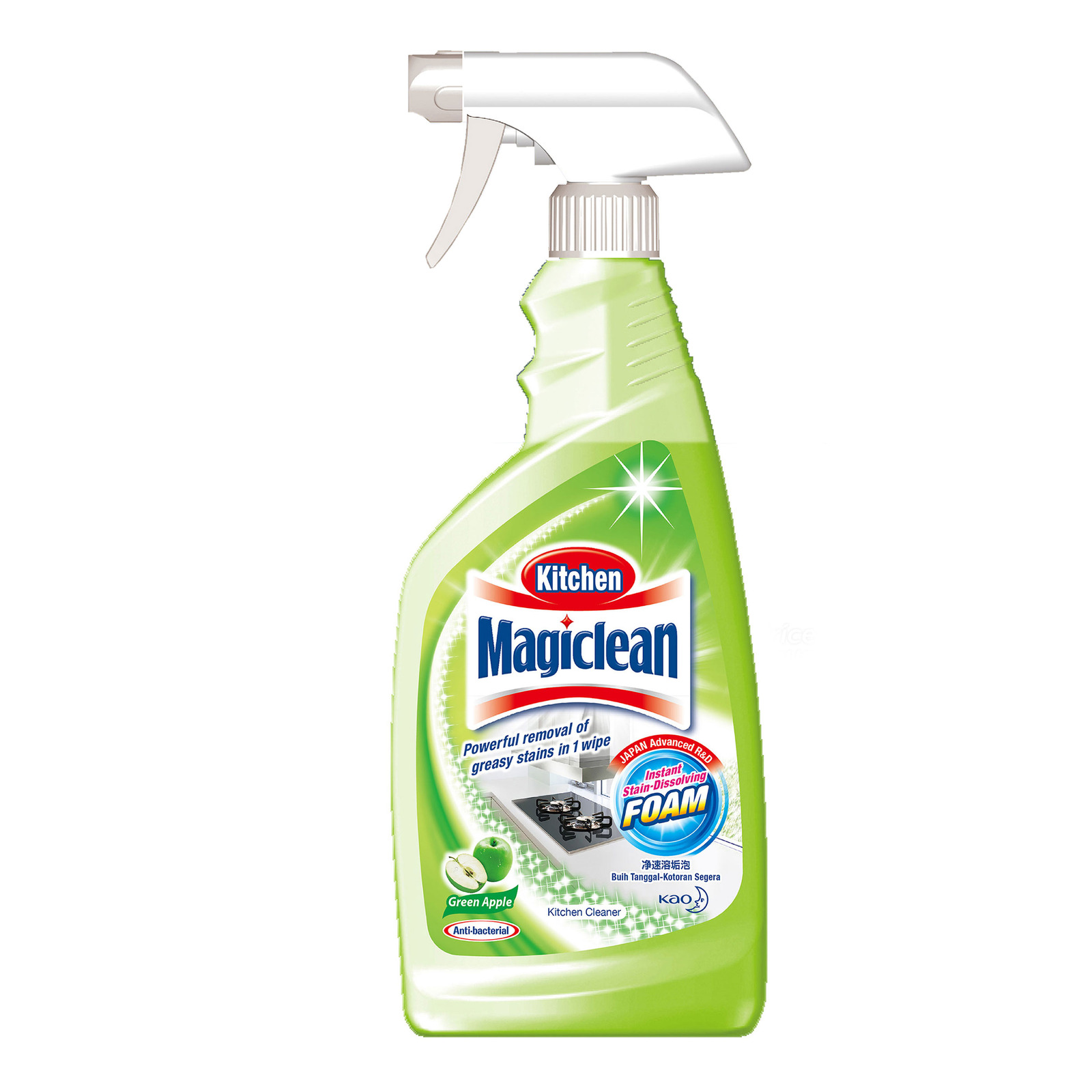Magiclean Green Apple Scent Kitchen Cleaner