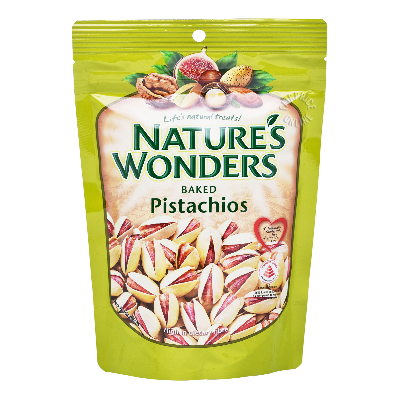 Nature's Wonders Baked Nuts - Pistachios
