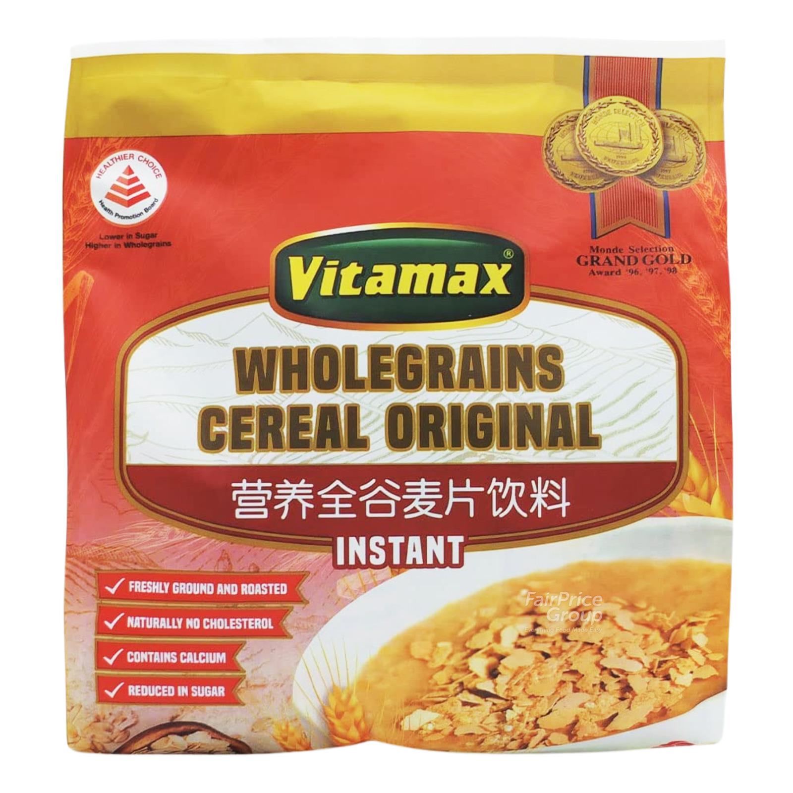 Vitamax Instant Wholegrains Cereal Drink - Original