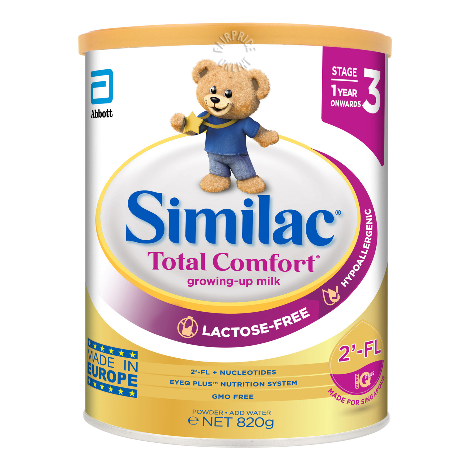 Abbott Similac Total Comfort Growing Up Milk Formula - Stage 3