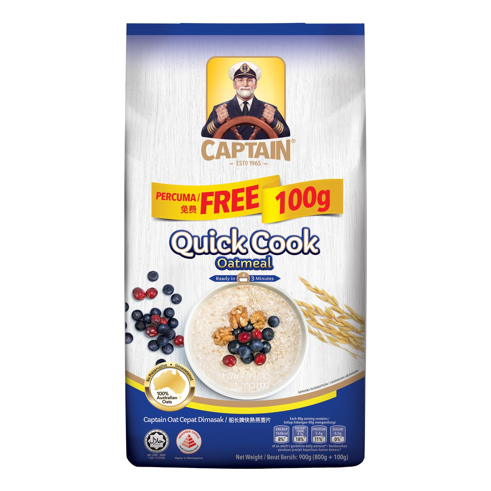 Captain Oats Oatmeal - Quick Cook