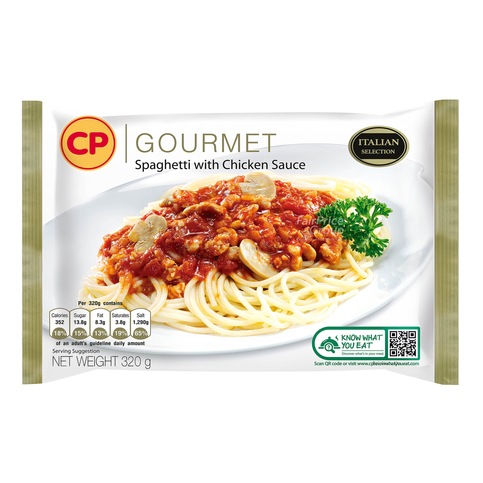 CP Gourmet Ready Meal - Spaghetti with Chicken Sauce