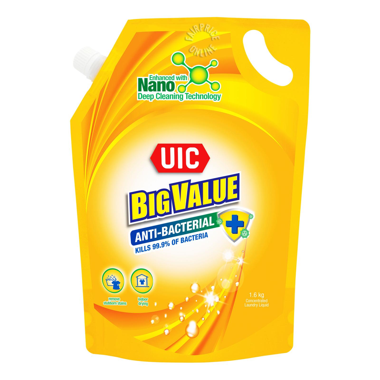 UIC Big Value Liquid Detergent Refill - Anti-Bacterial
