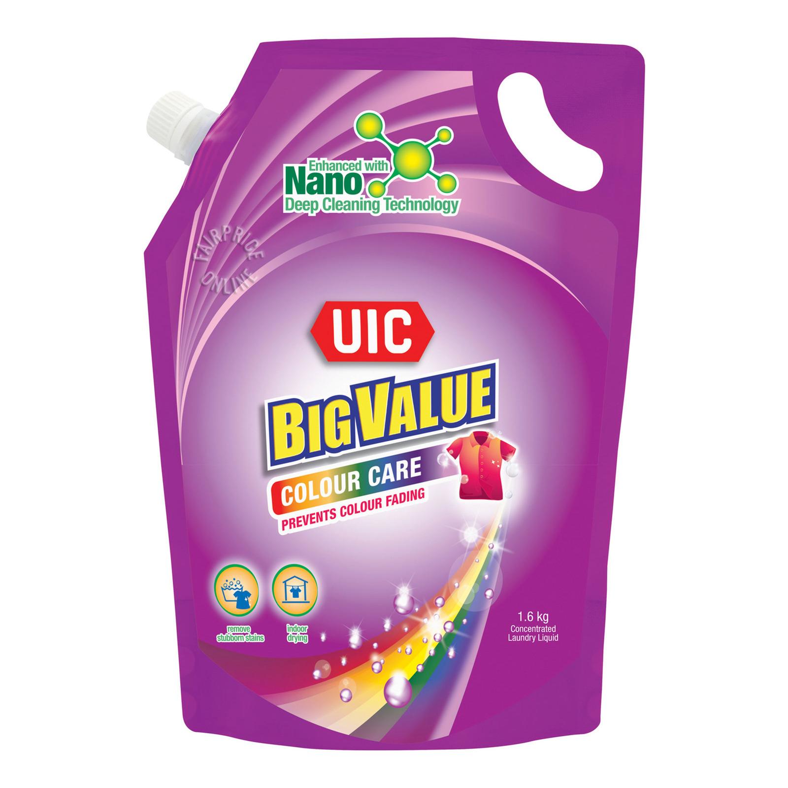 UIC Big Value Liquid Detergent Refill - Colour Care