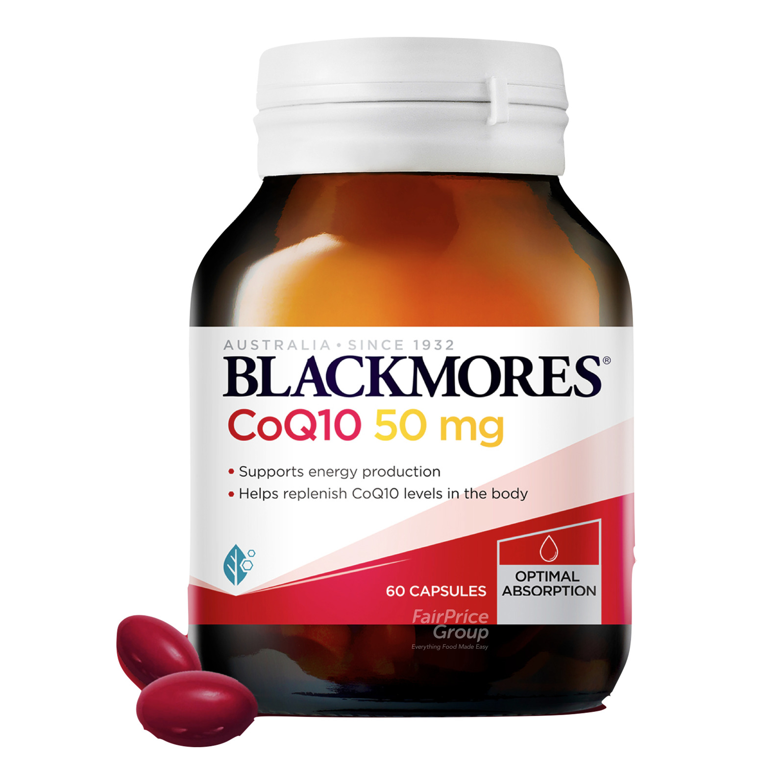 Blackmores Dietary Supplement Capsules - CoQ10