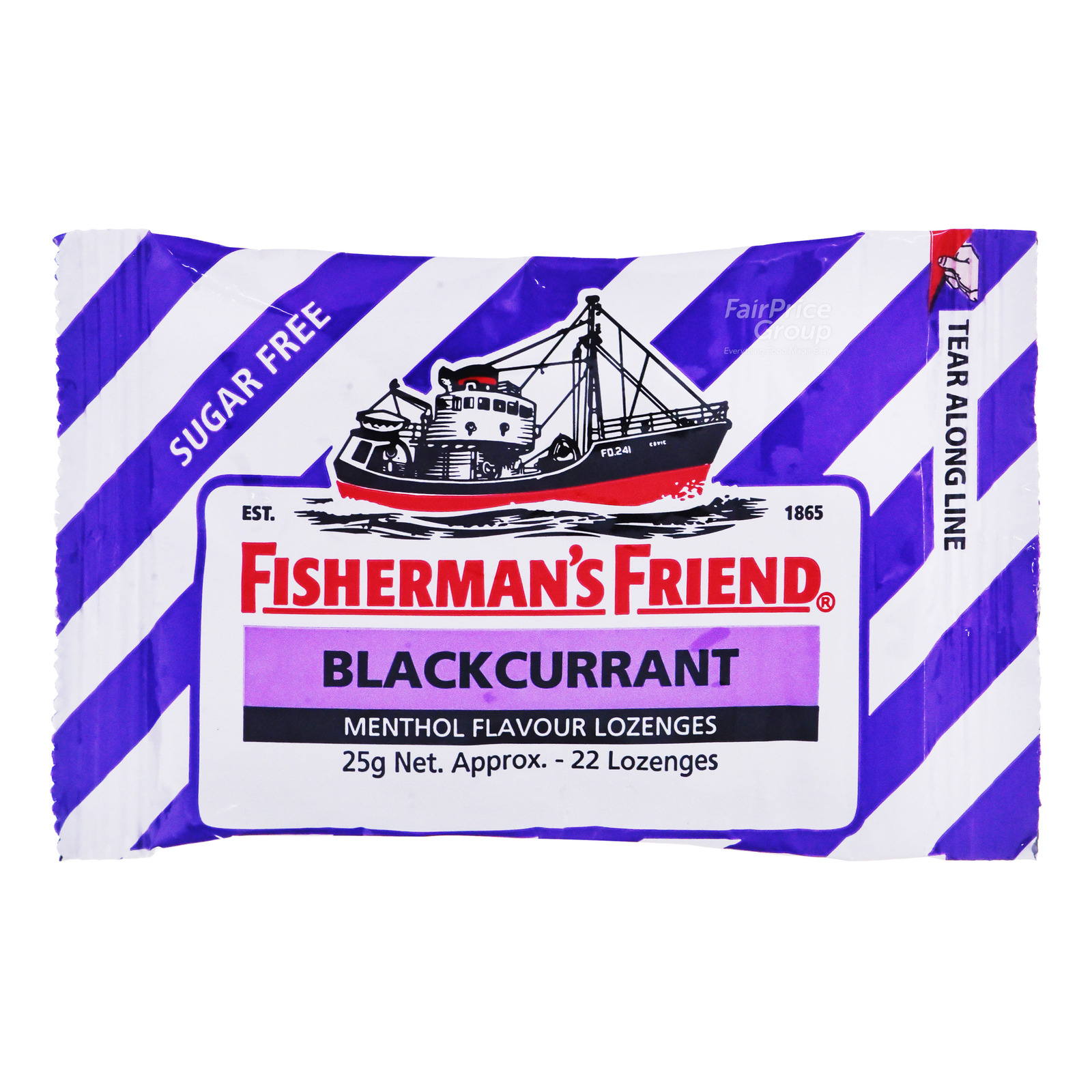 Fisherman's Friend Sugar Free Lozenges - Blackcurrant