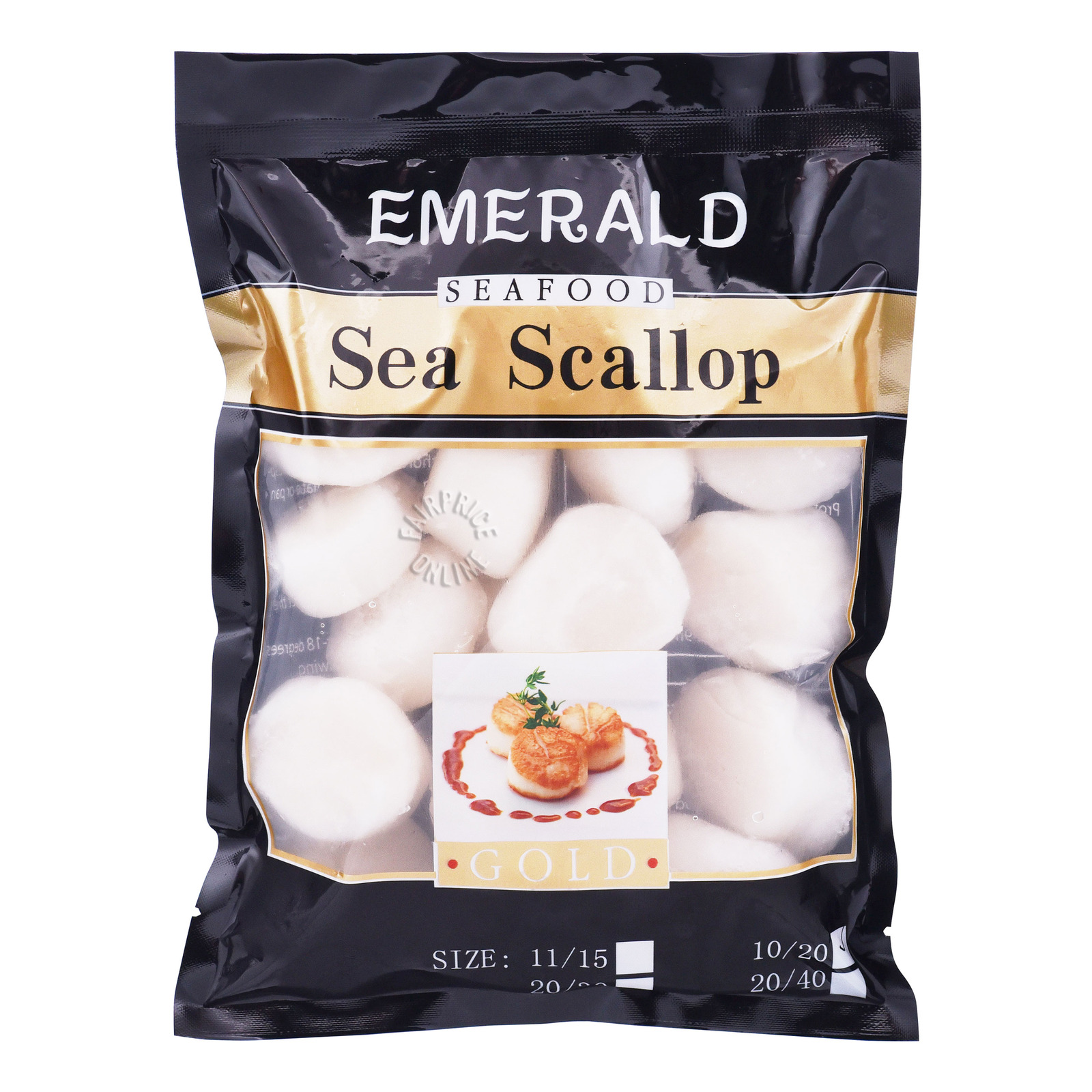 Emerald Seafood Frozen Sea Scallops
